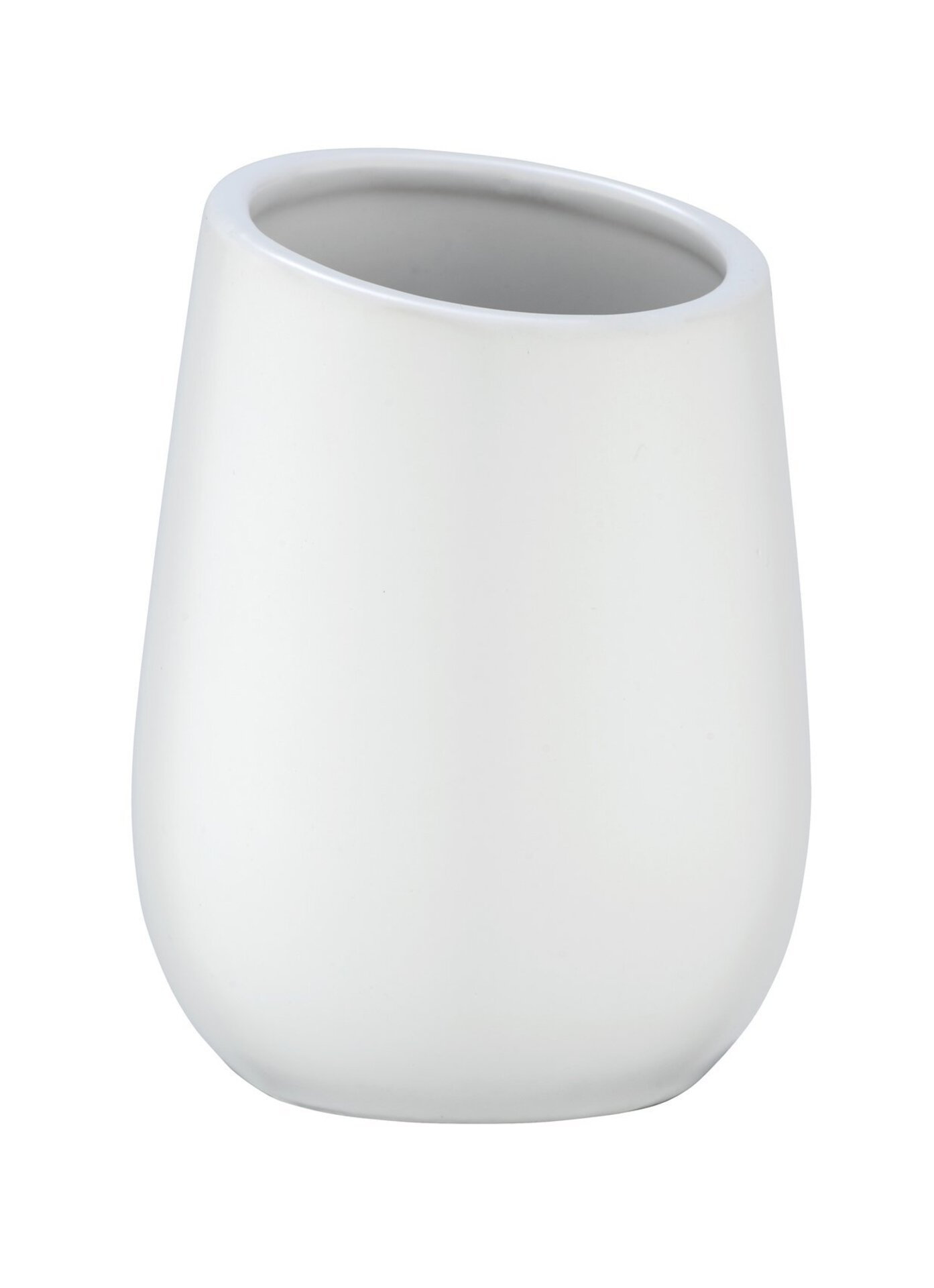 Badzubehör Badi Wenko Keramik weiß 8 x 11 x 8 cm