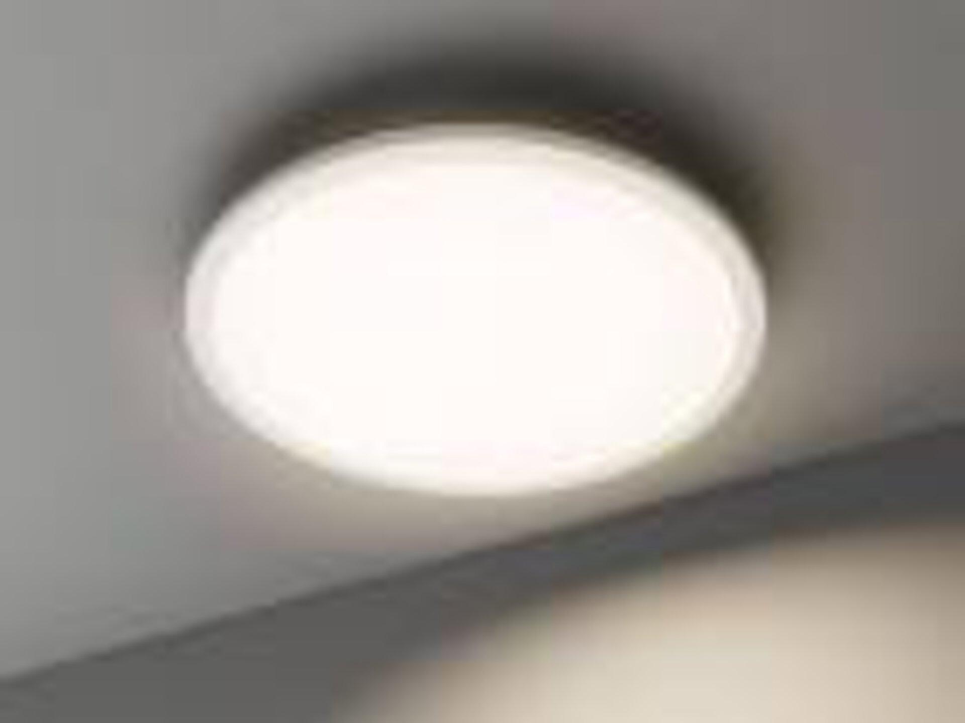 Smart-Home-Leuchten Colores Casa Nova Metall weiß 45 x 5 x 45 cm