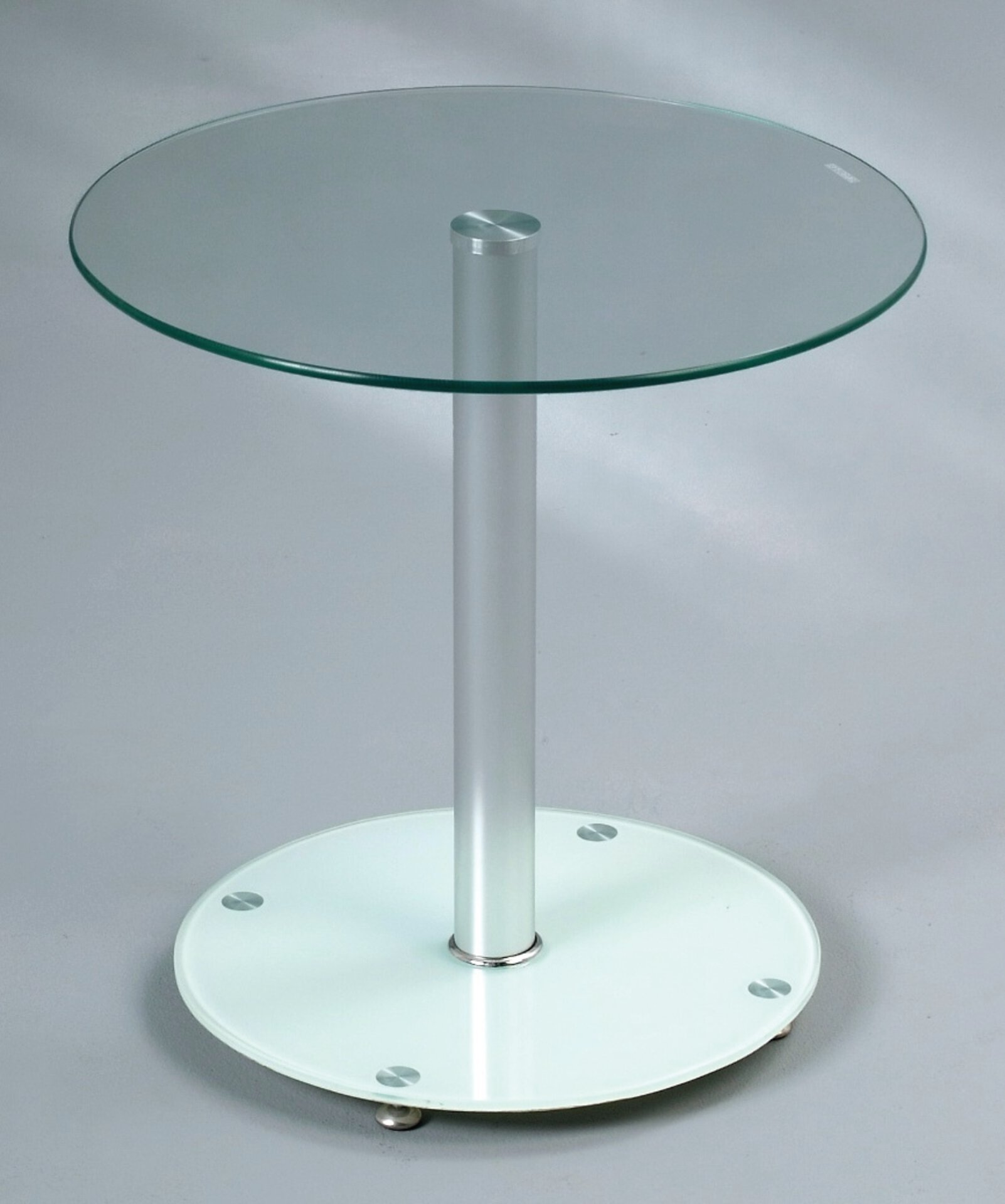 Beistelltisch ANNA M2 Kollektion Metall weiß 50 x 50 x 50 cm