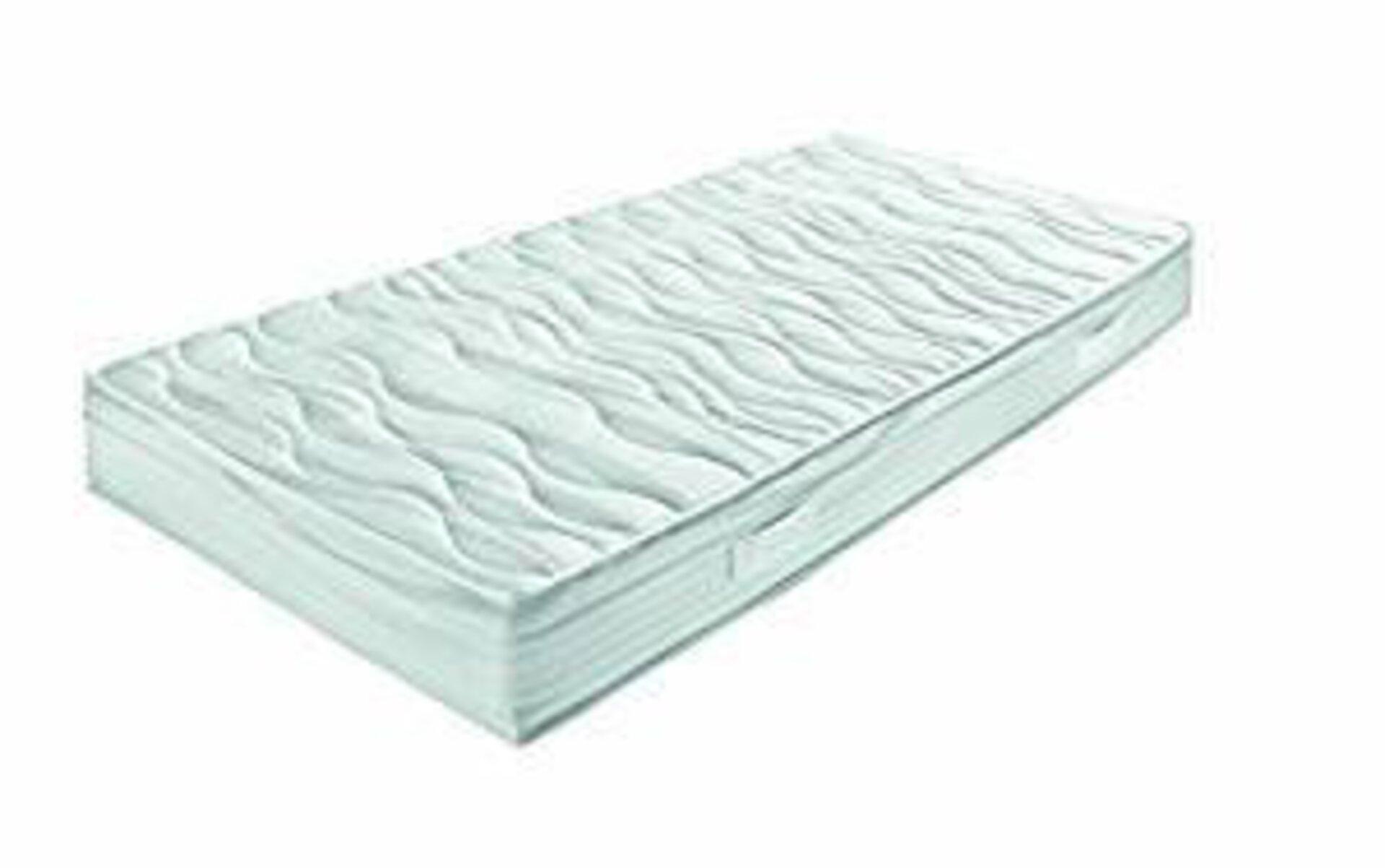 Taschenfederkernmatratze GEL SENSITIV SPRING Breckle Textil weiß 200 x 90 cm