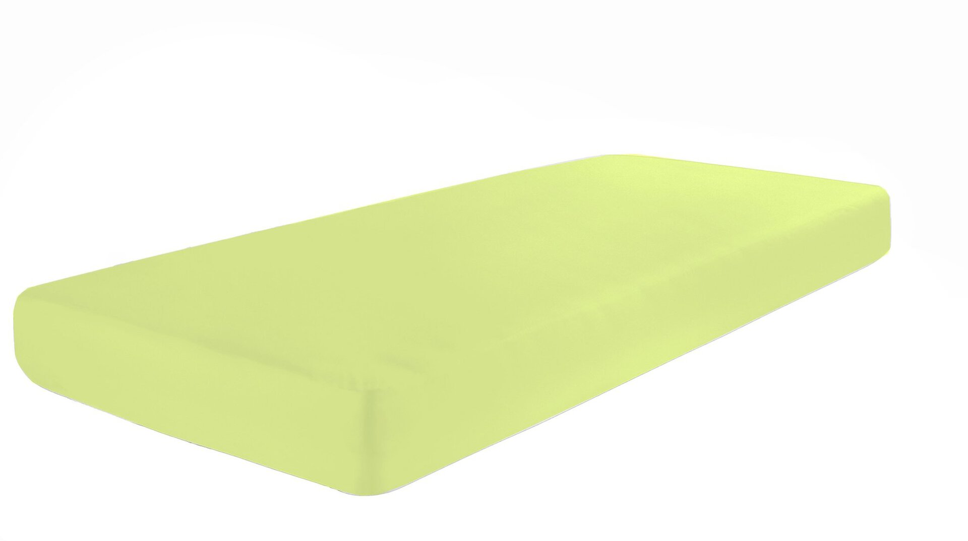 Jersey-Spannbetttuch Pro Night Textil grün 1 x 2 cm