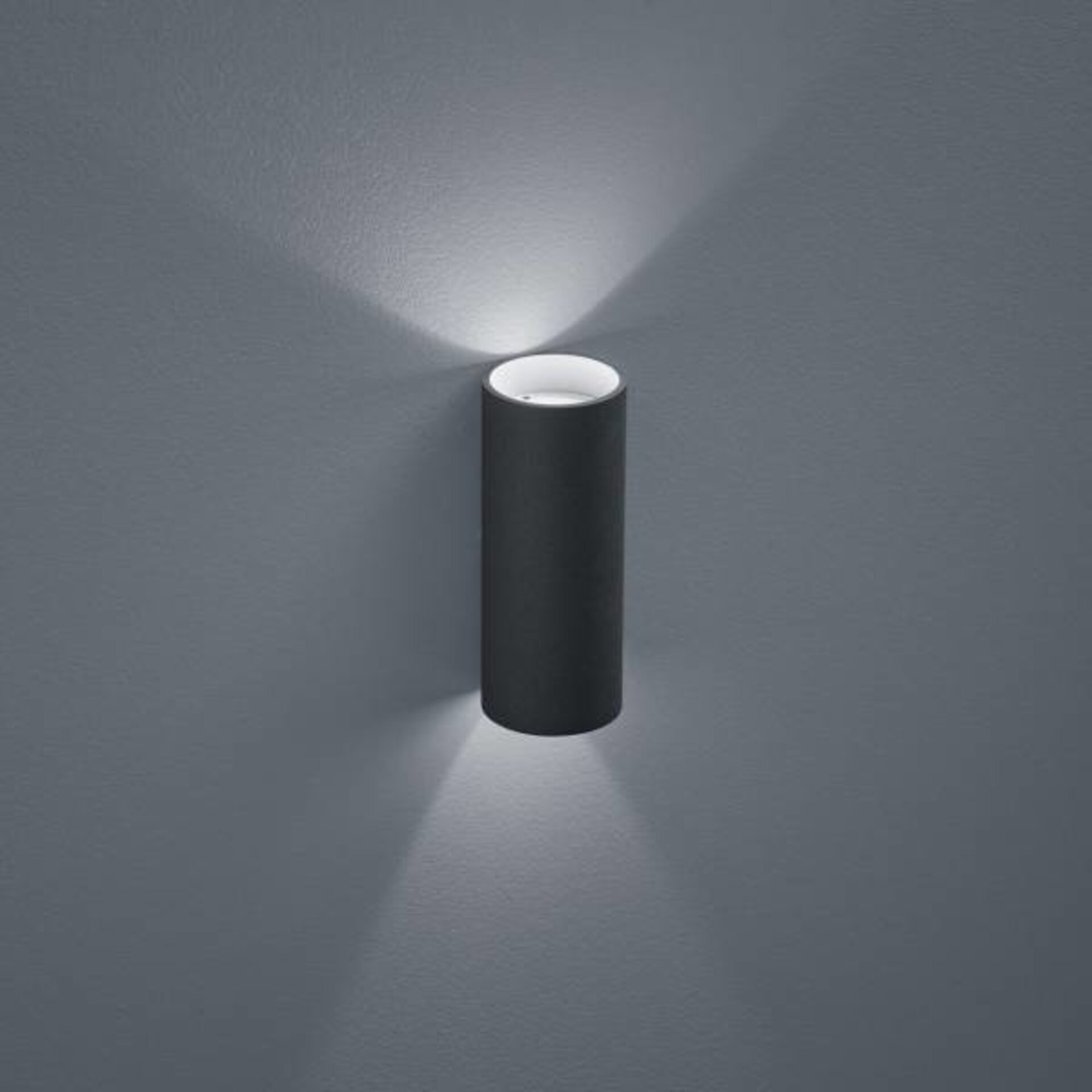 Wand-Aussenleuchte SWIFT Helestra Leuchten Metall 8 x 18 x 8 cm