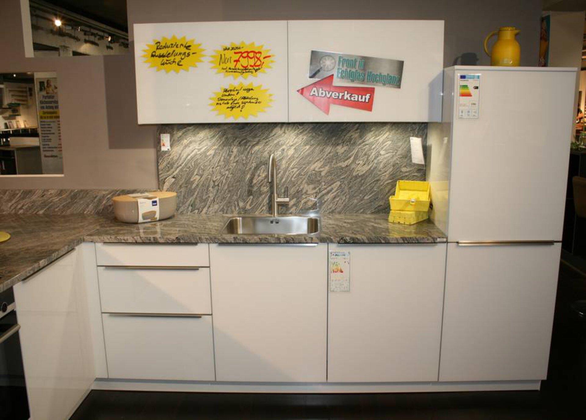 Moderne Einbauküche Glasline GLG Interline