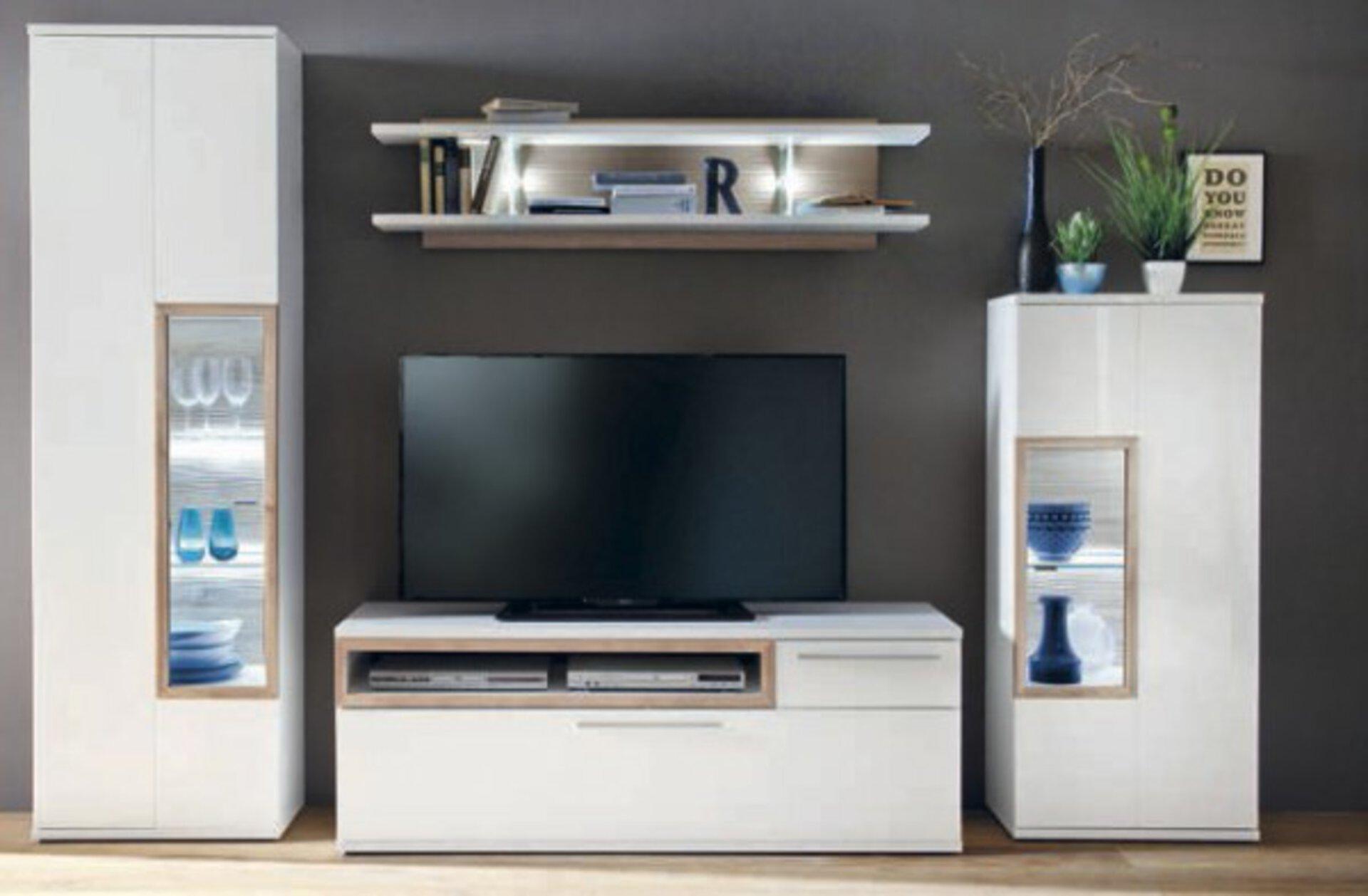 Wohnwand PAMPLONA MCA furniture 1 x 2 x 3 cm