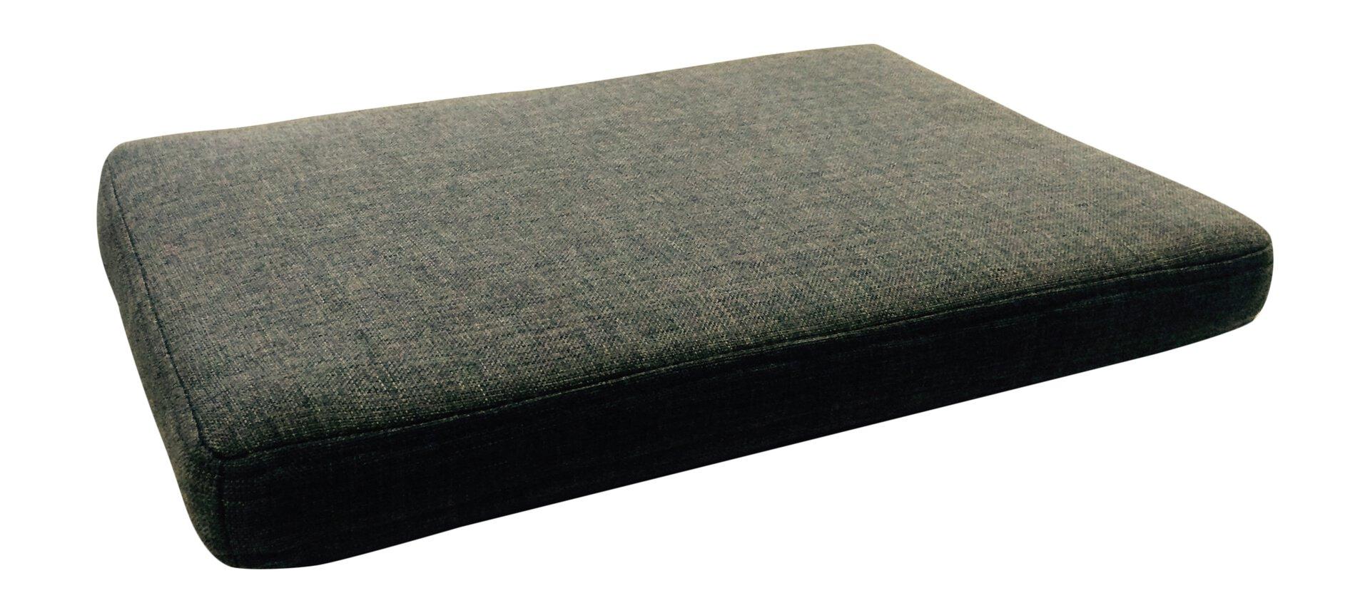 Sitzkissen inDoor grau 35 x 5 x 50 cm
