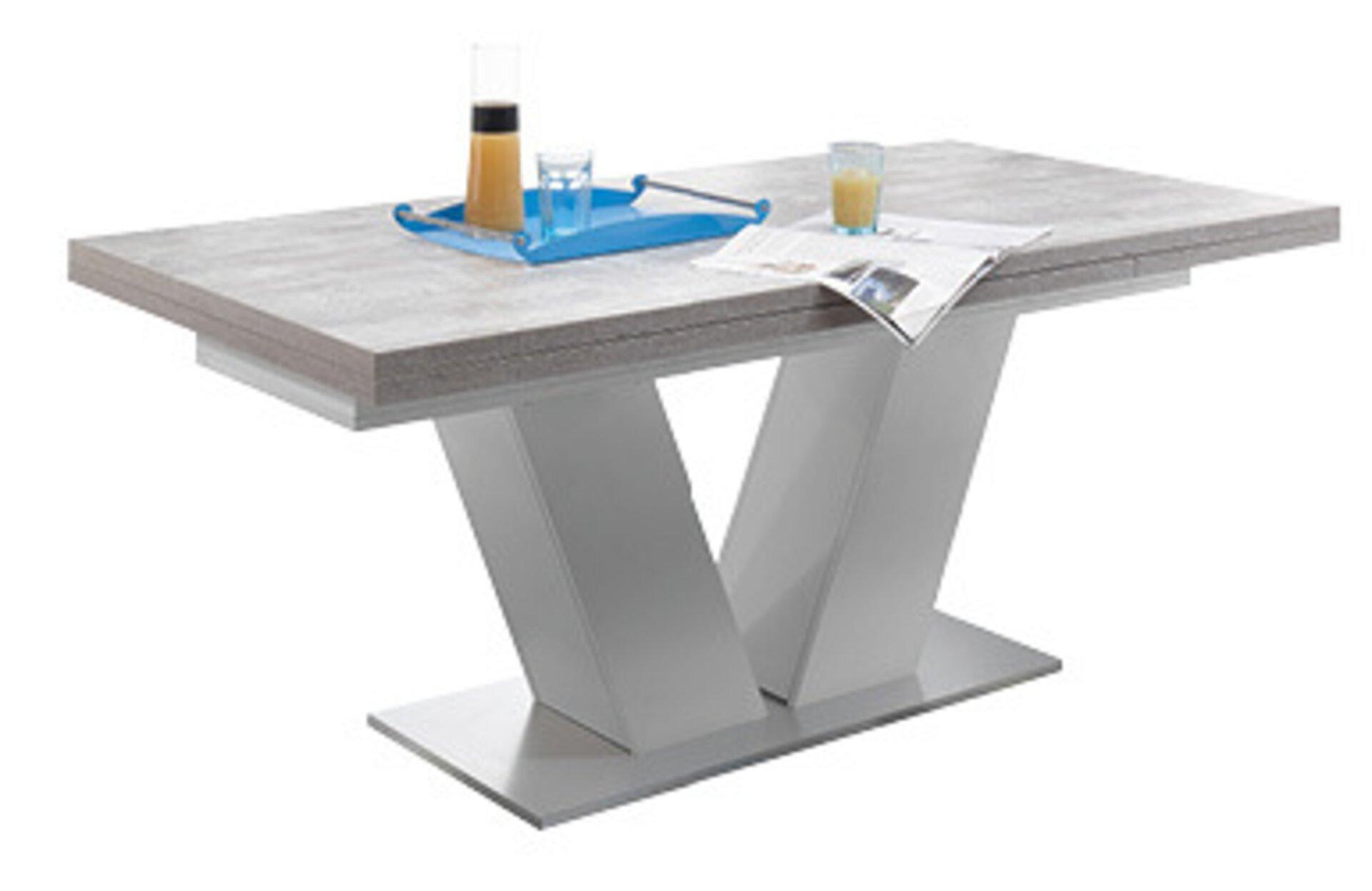 Tisch mit Auszug KOMFORT D Mäusbacher Holzwerkstoff