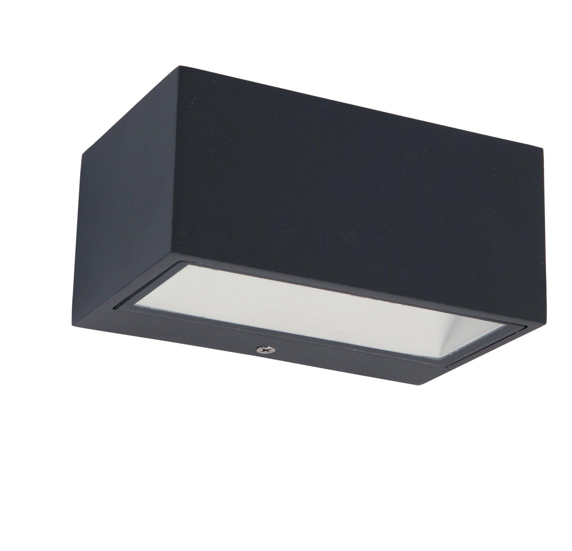 Wand-Aussenleuchte Gemini Eco-Light Metall 7 x 9 x 14 cm