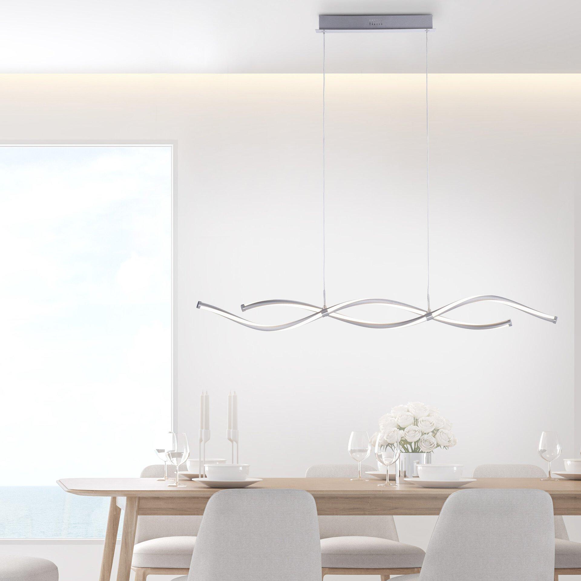 Smart-Home-Leuchten Q-MALINA Paul Neuhaus Metall 11 x 120 x 111 cm