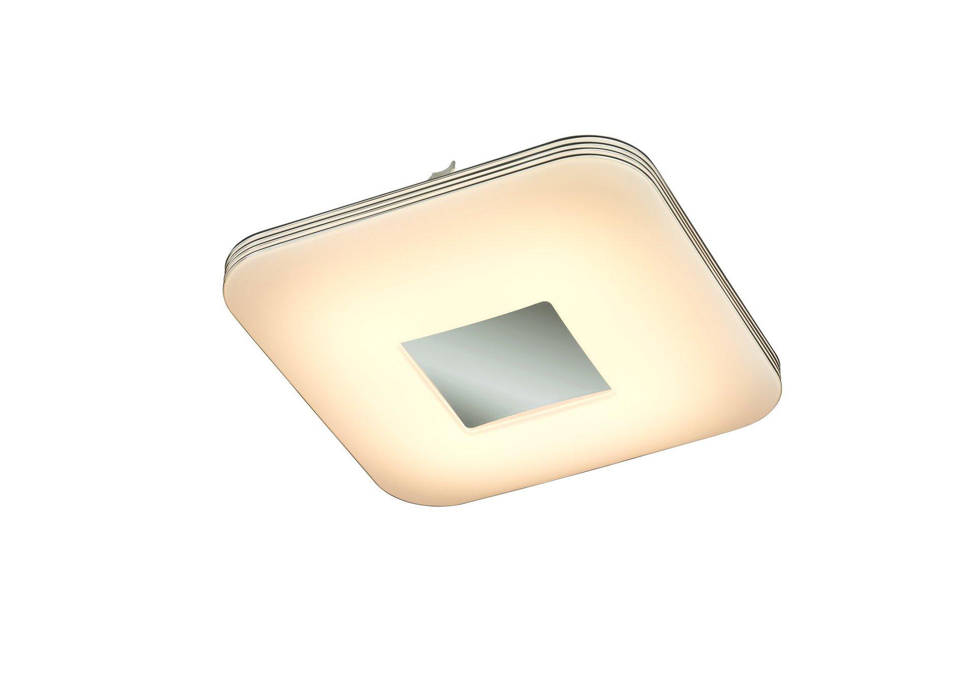 Deckenleuchte Venus Reality Leuchten Metall silber 33 x 8 x 33 cm