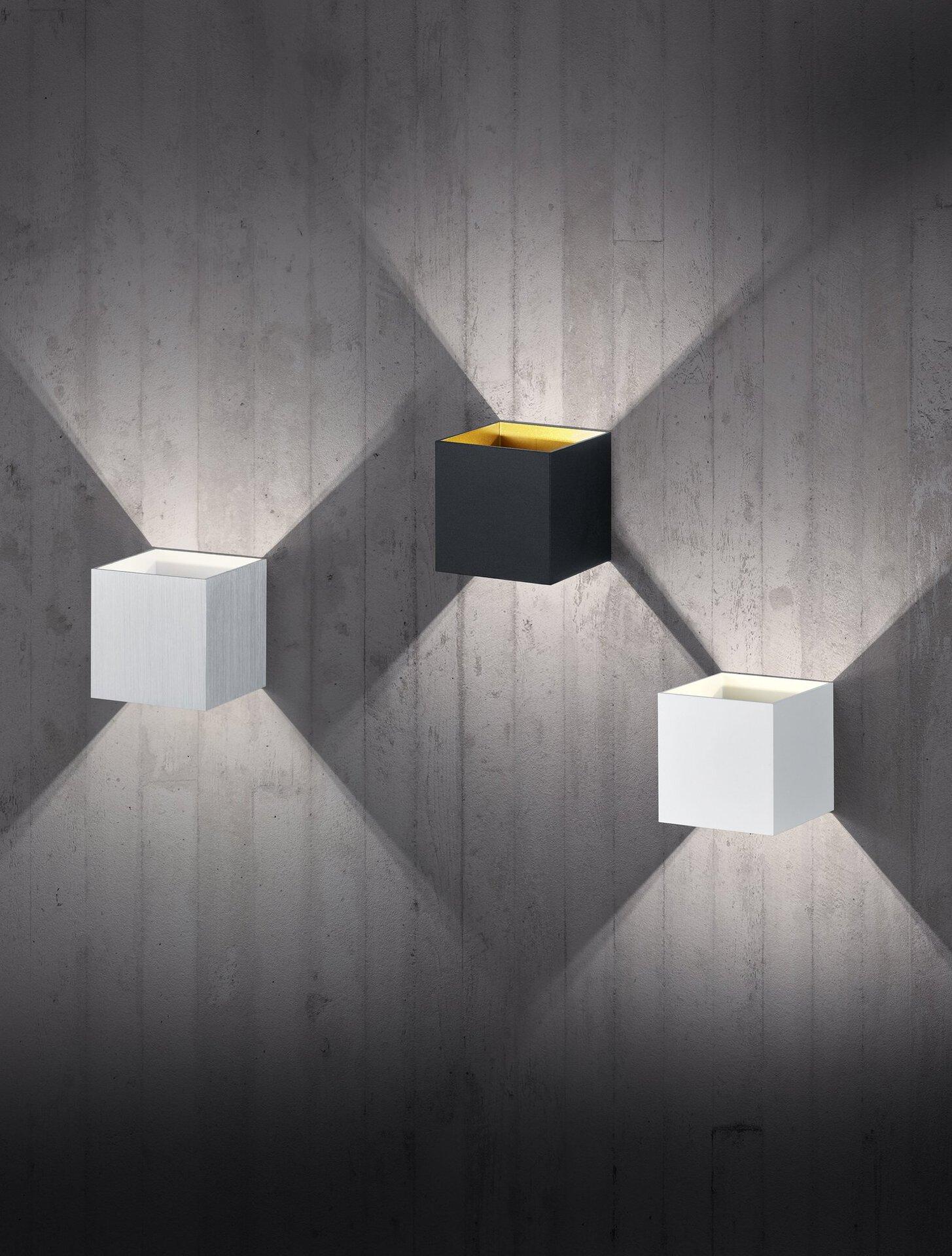 Wandleuchte Louis Trio Leuchten Metall 10 x 10 x 10 cm