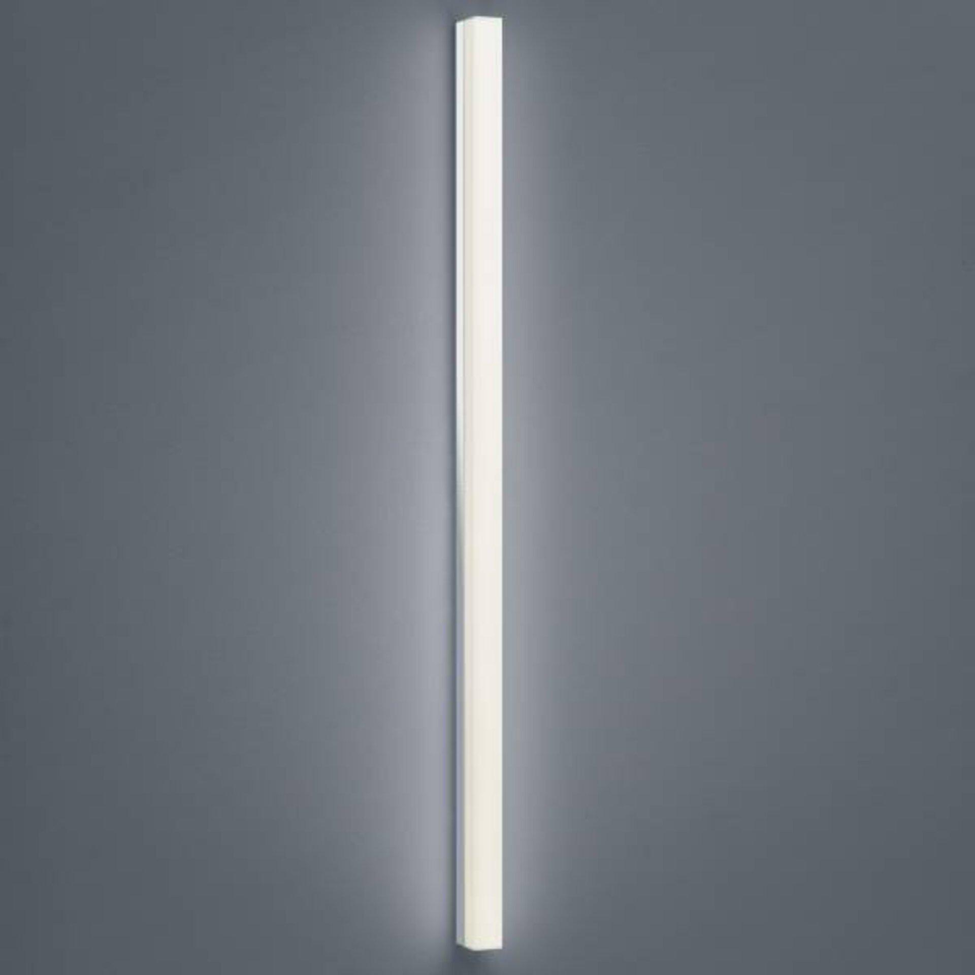 Bad-Wandleuchte LADO Helestra Leuchten Metall silber 4 x 6 x 120 cm