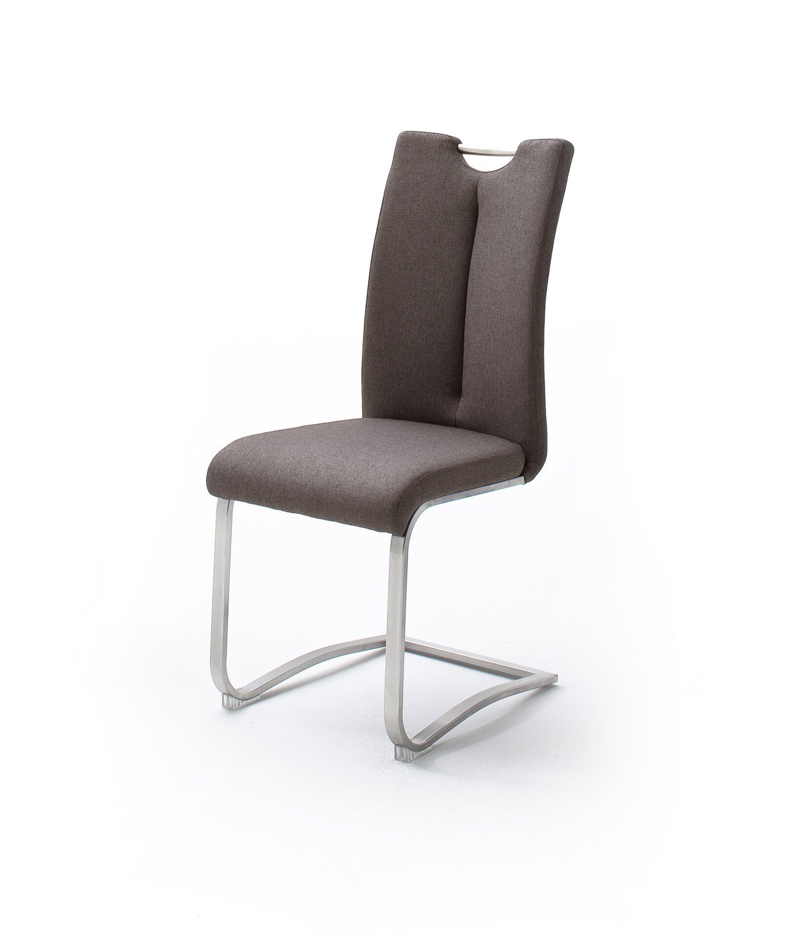 Stuhl ARTOS MCA furniture Textil braun 58 x 102 x 45 cm
