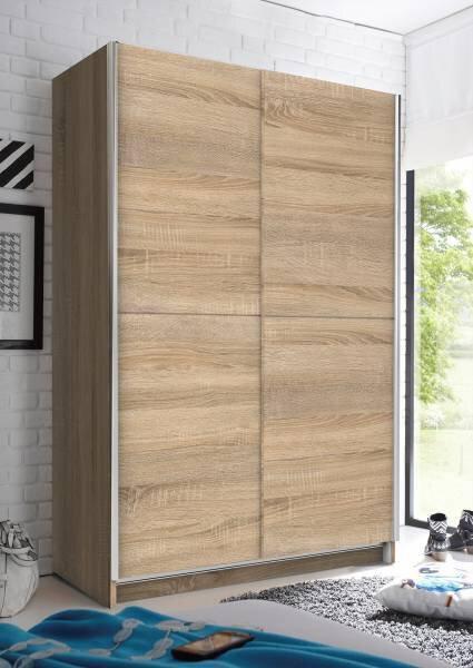 Schwebetürenschrank Dreamoro Holzwerkstoff Eiche Sonoma Nachbildung
