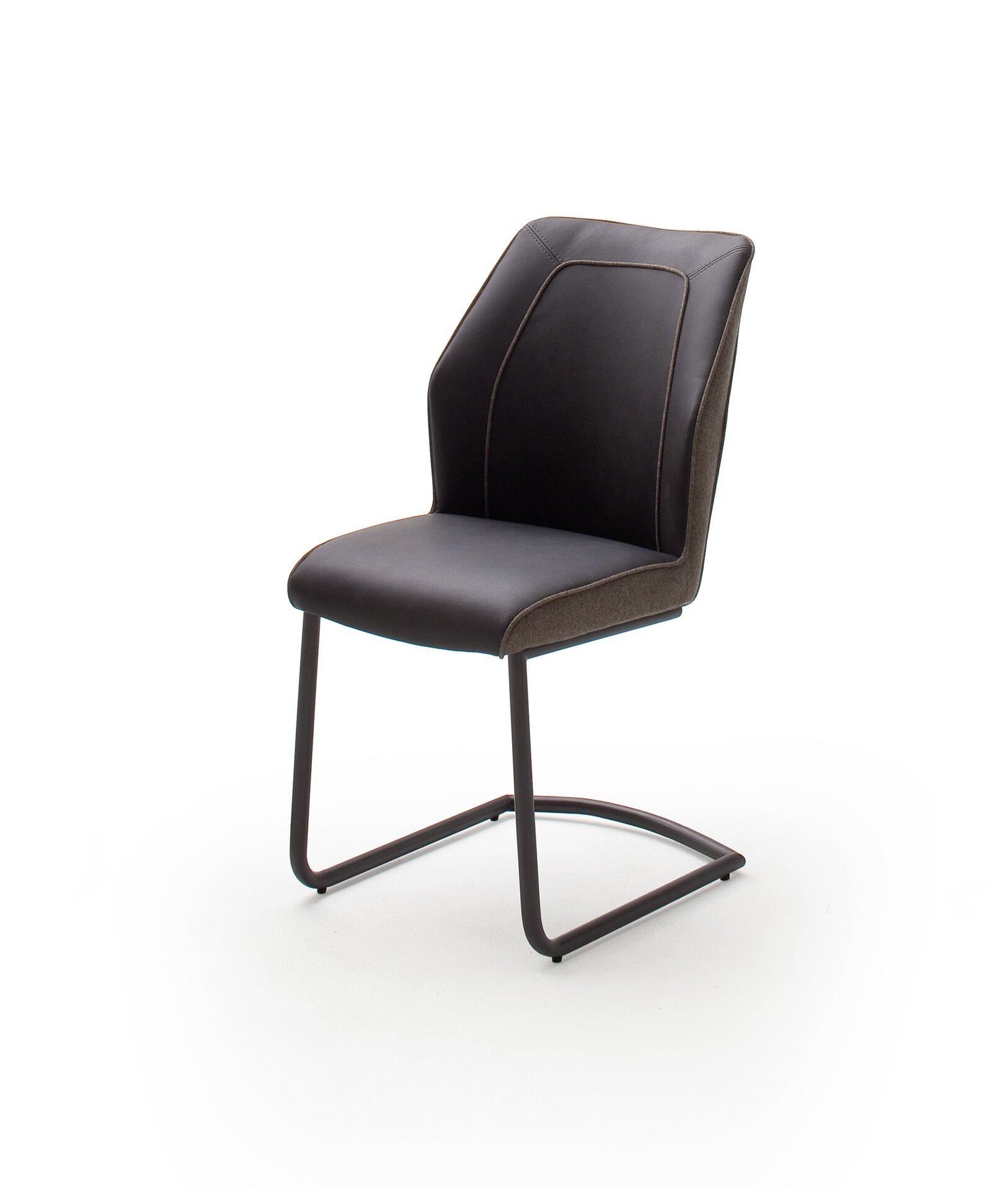 Freischwingerstuhl ABERDEEN MCA furniture Textil mehrfarbig 62 x 92 x 50 cm