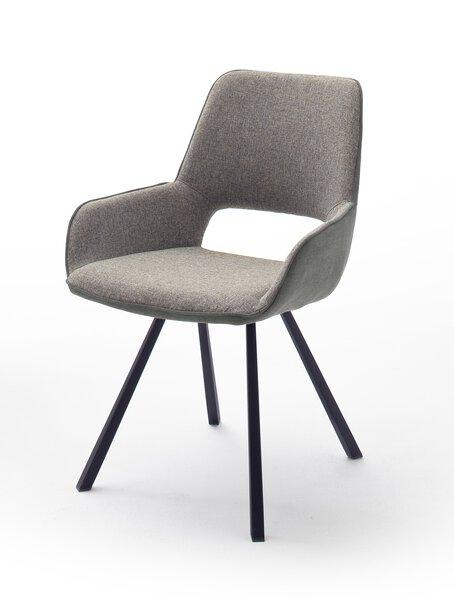 Stuhl MCA furniture Textil Gestell eckig anthrazit
