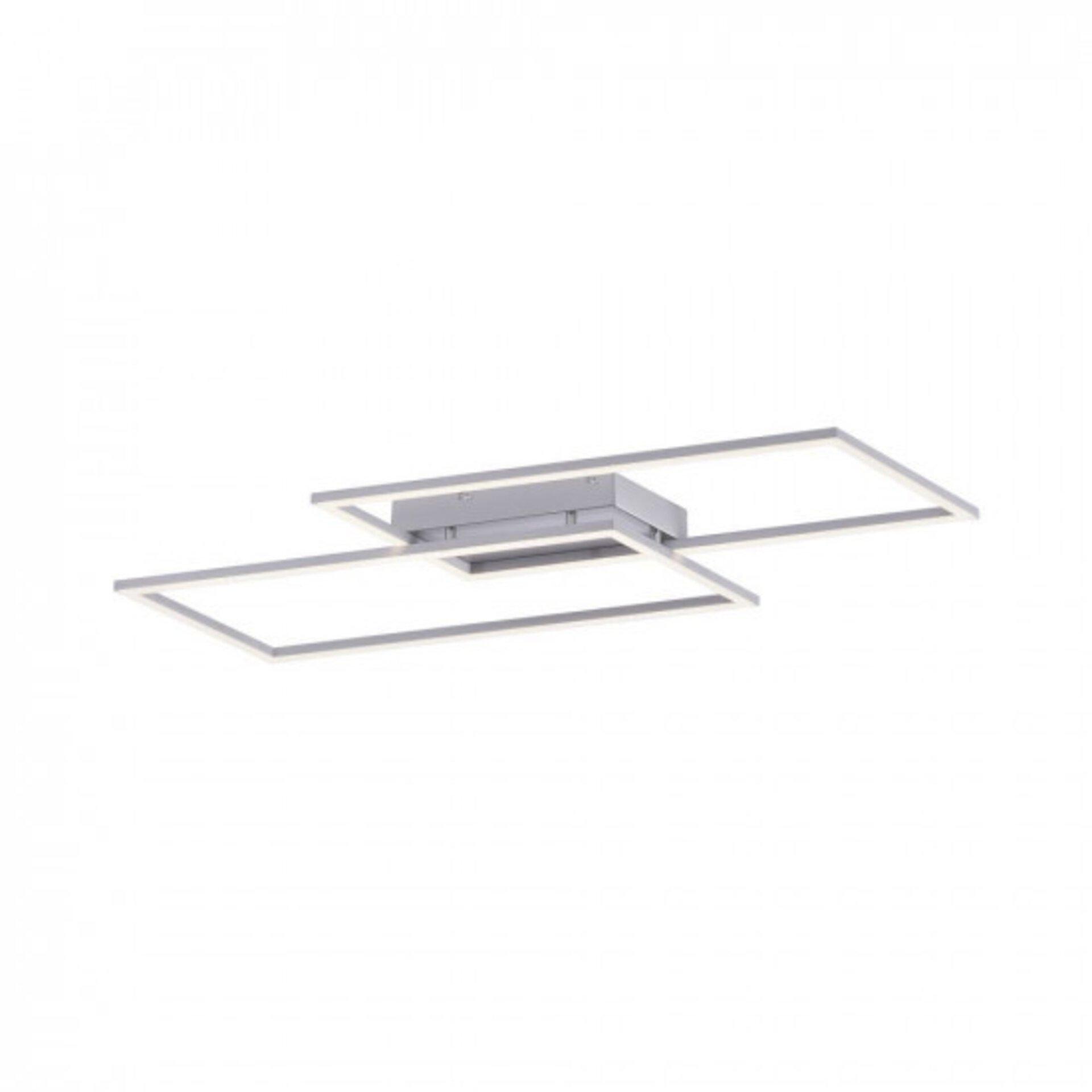 Deckenleuchte INIGO Paul Neuhaus Metall silber 24 x 7 x 84 cm