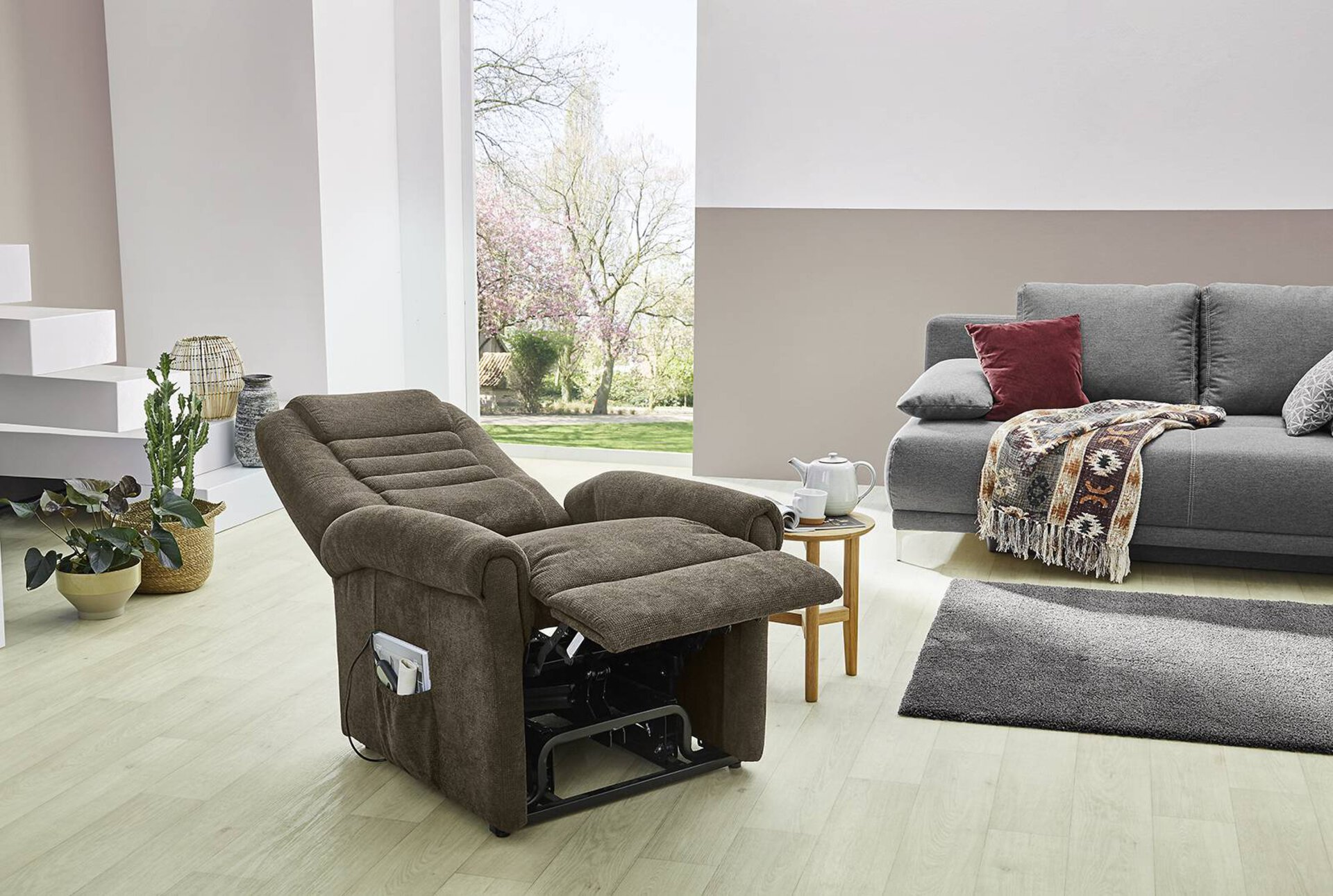 Relaxsessel OPERA CELECT Textil 84 x 113 x 77 cm