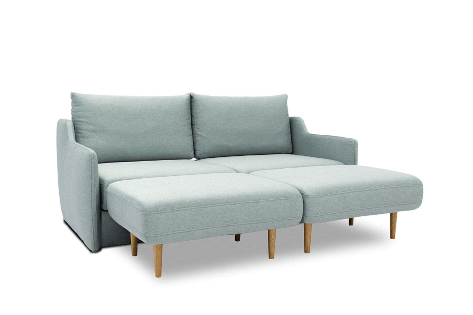 Sofa 2-Sitzer ALFA tiny.collection Textil 96 x 107 x 198 cm