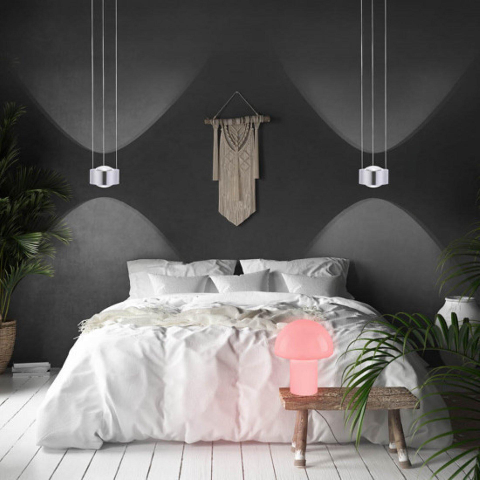 Smart-Home-Leuchten Q-LIDO Paul Neuhaus Metall weiß 22 x 27 x 22 cm