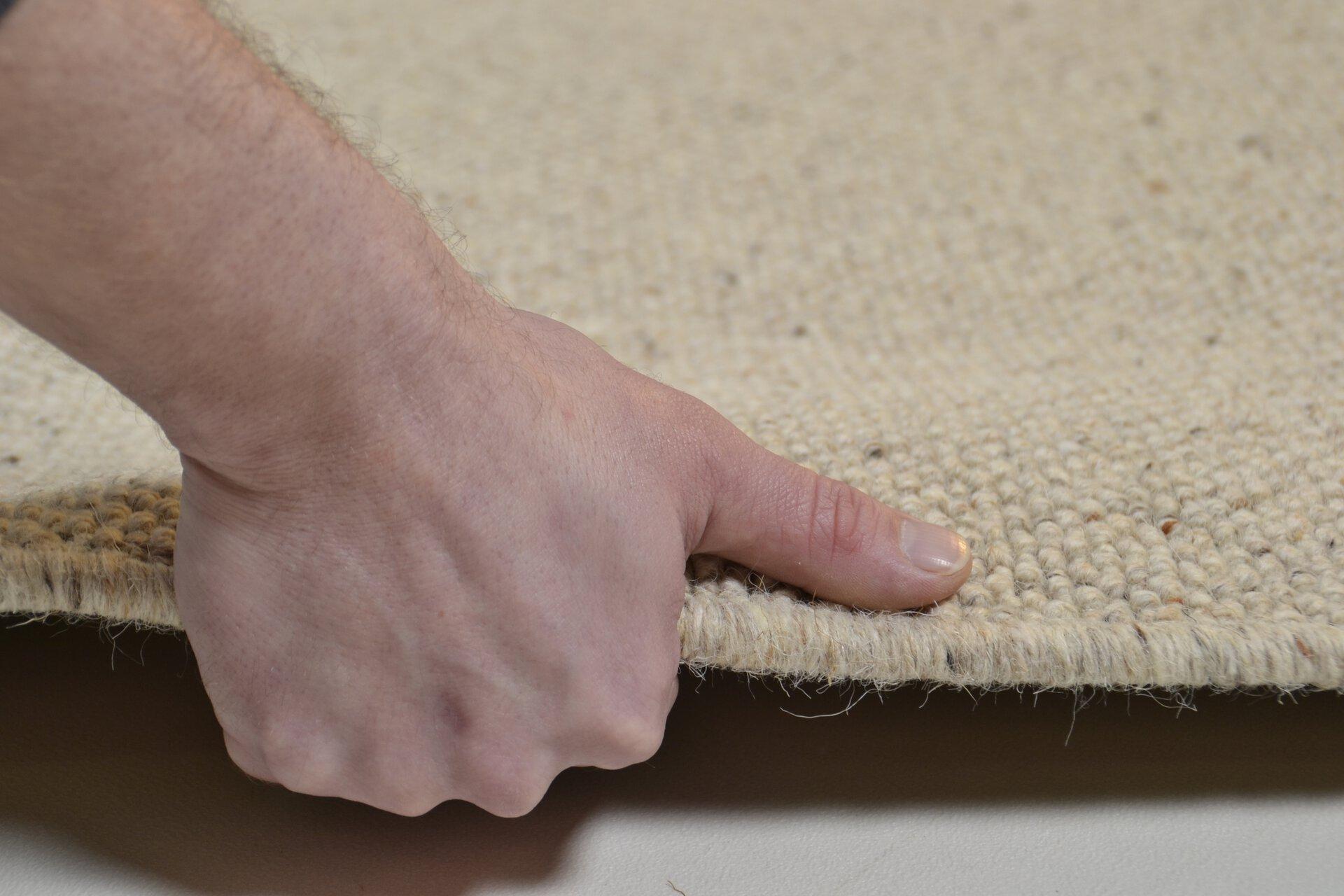 Maschinenwebteppich Douro Theko Textil braun