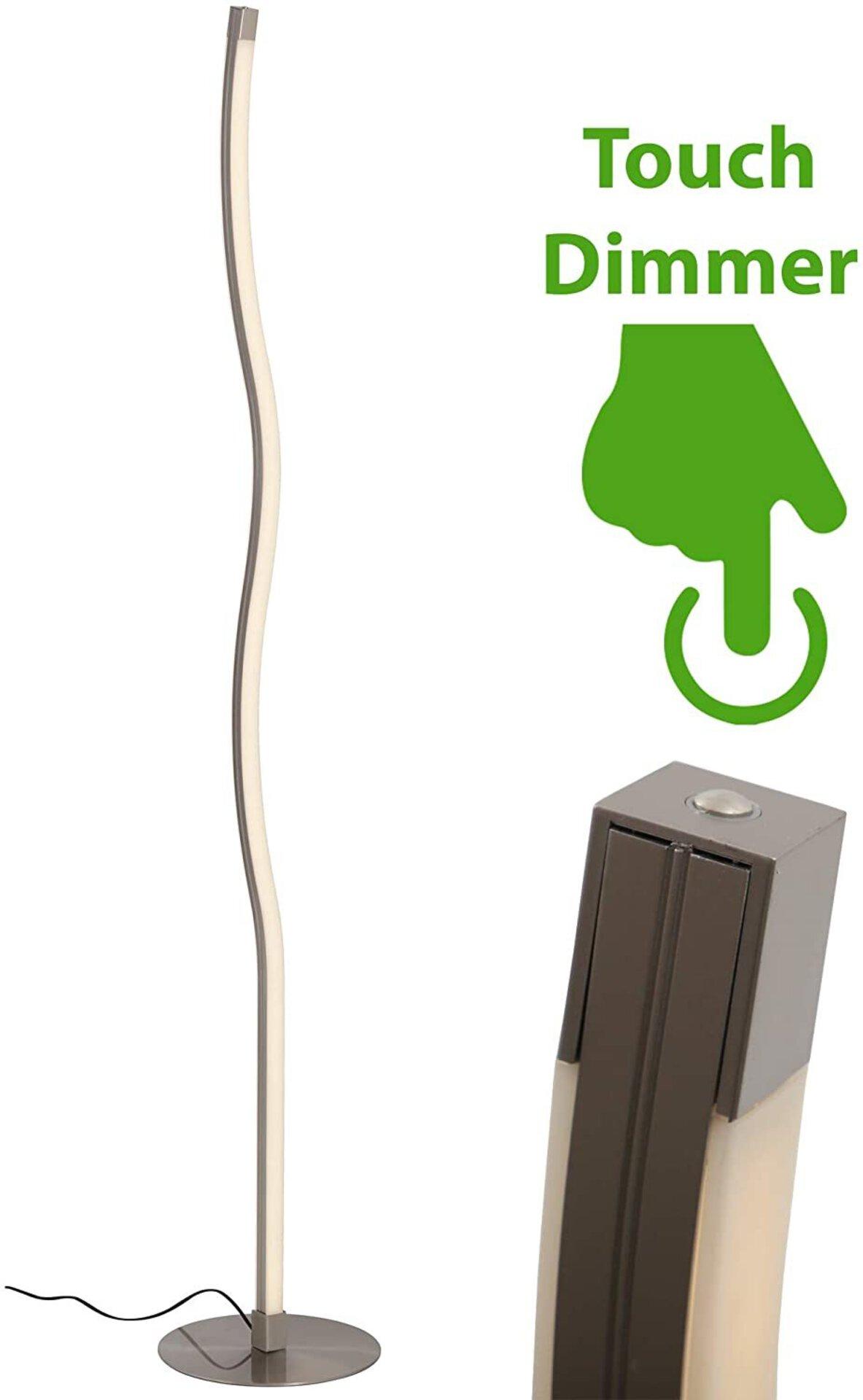 Stehleuchte Slim Briloner Metall 25 x 148 x 25 cm