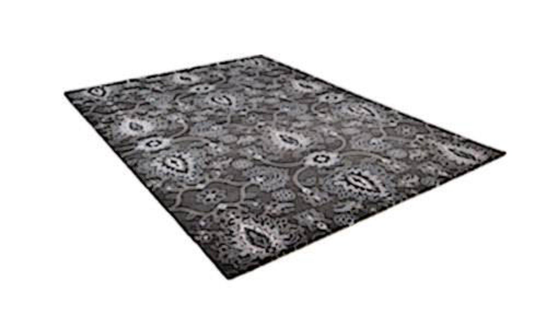 Icon für Maschinenwebteppich zeigt einen gewebten Teppich mit aufwendigem Muster.
