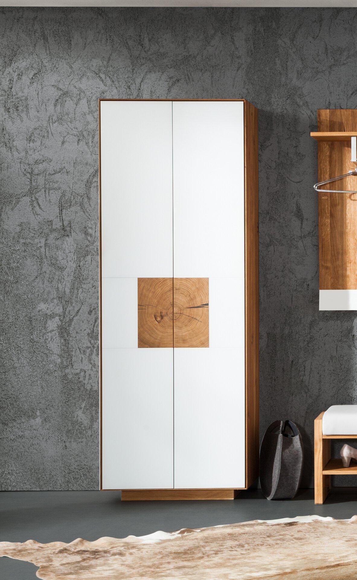 Garderobenschrank DOMUS Gradel Holzwerkstoff braun 37 x 198 x 72 cm