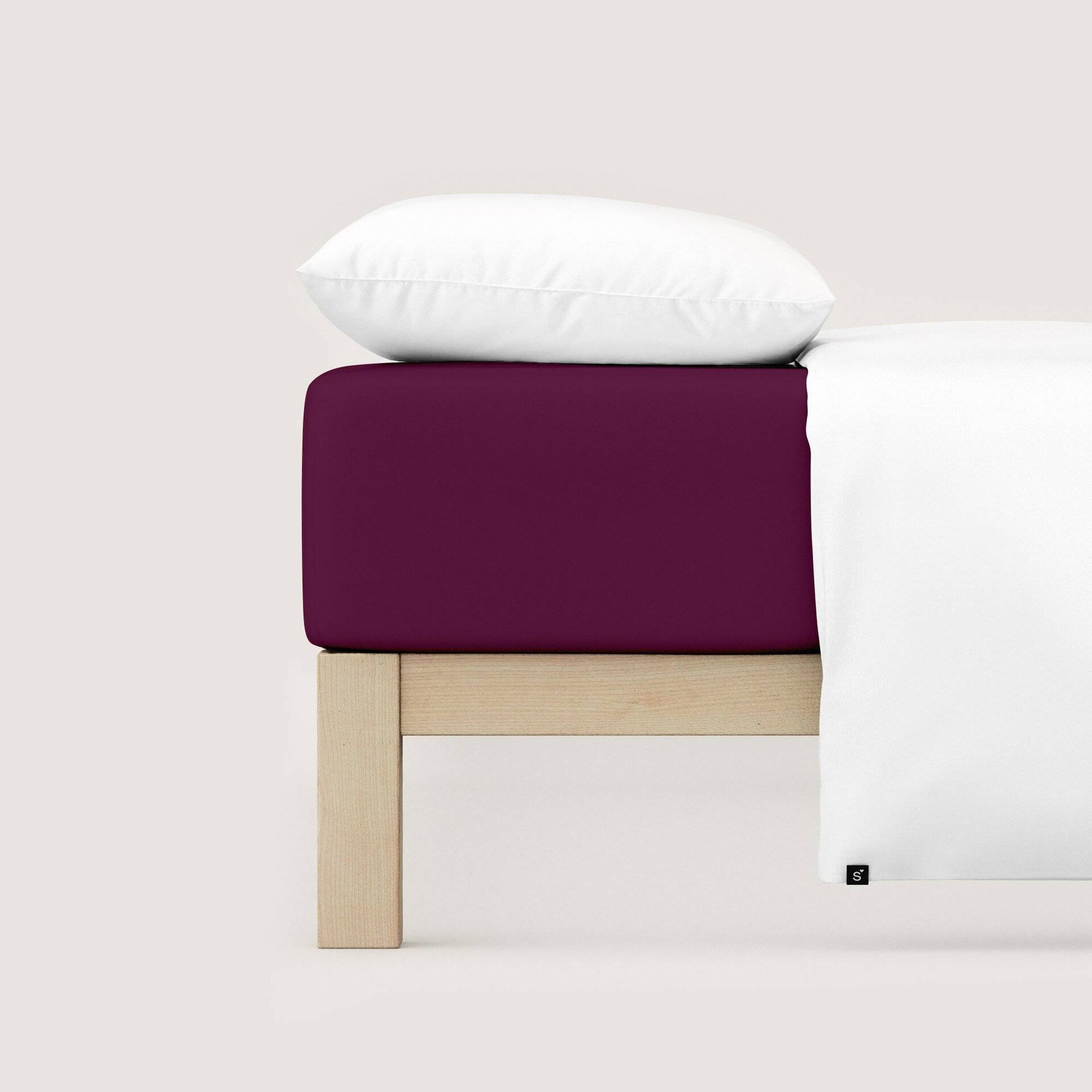 Elastan Jersey-Spannbetttuch Schlafgut Textil 100 x 200 cm