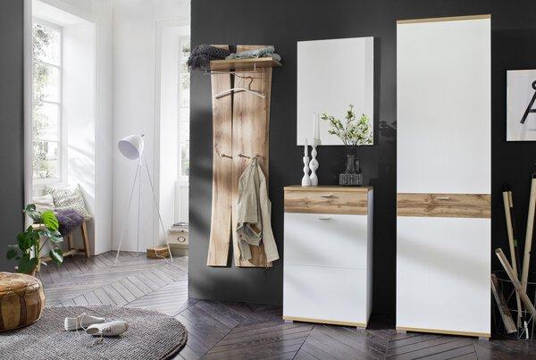 Garderoben-Set MCA furniture Holzwerkstoff Wotan Eiche ca. 39 cm x 210 cm x 292 cm