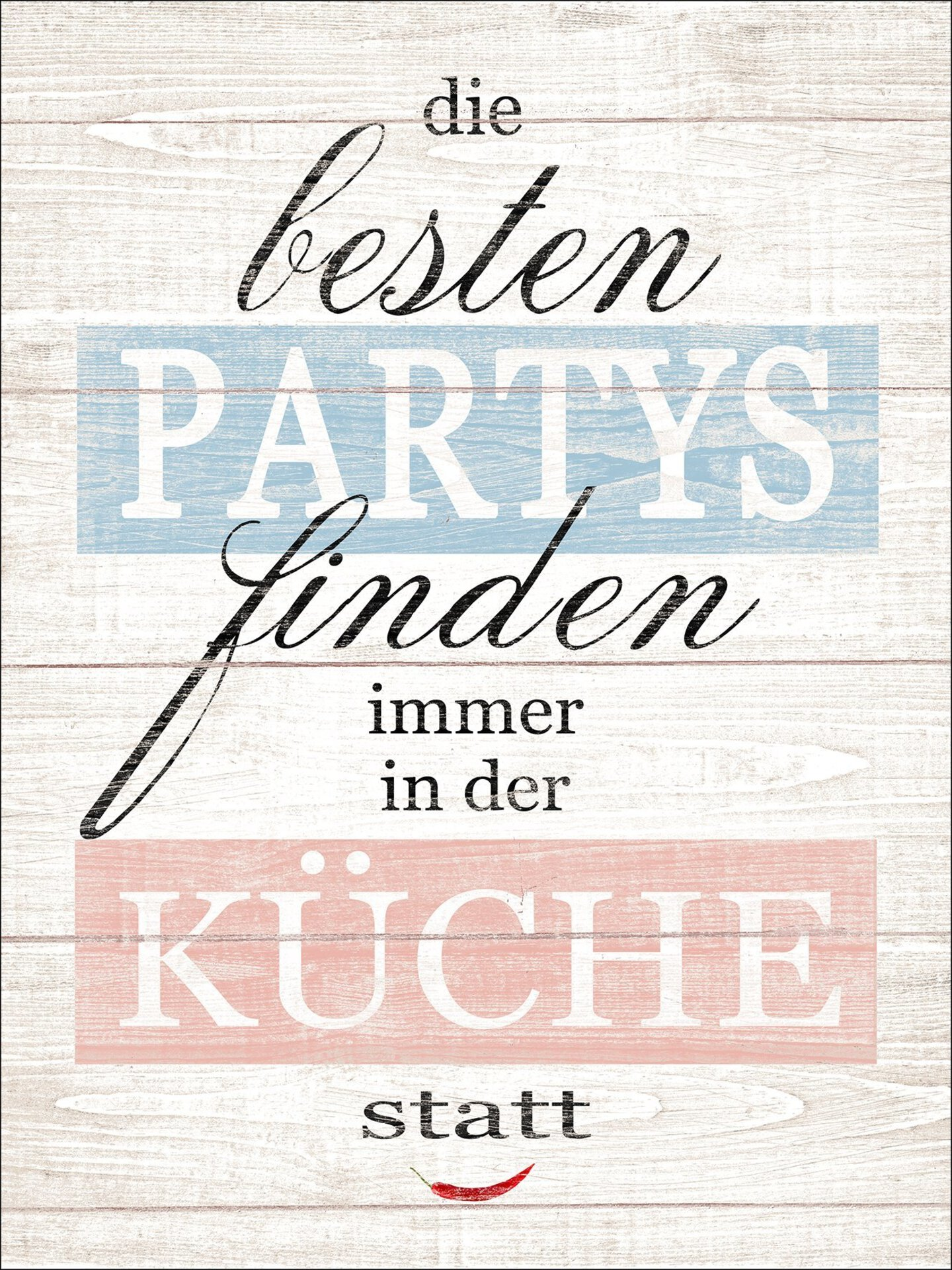 Bild Partys & Küche Pro-Art Holzwerkstoff mehrfarbig 39 x 29 x 1 cm