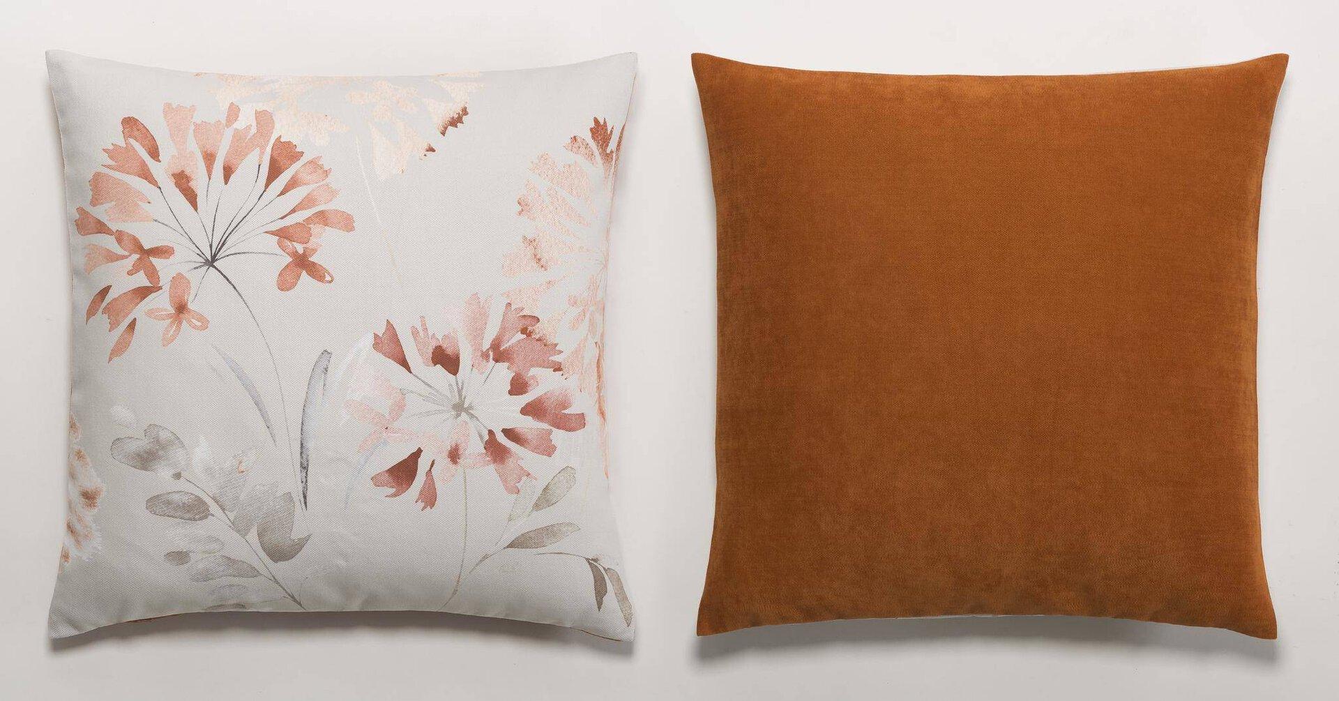 Kissenhülle Carina Ambiente Trendlife Textil mehrfarbig 50 x 50 cm