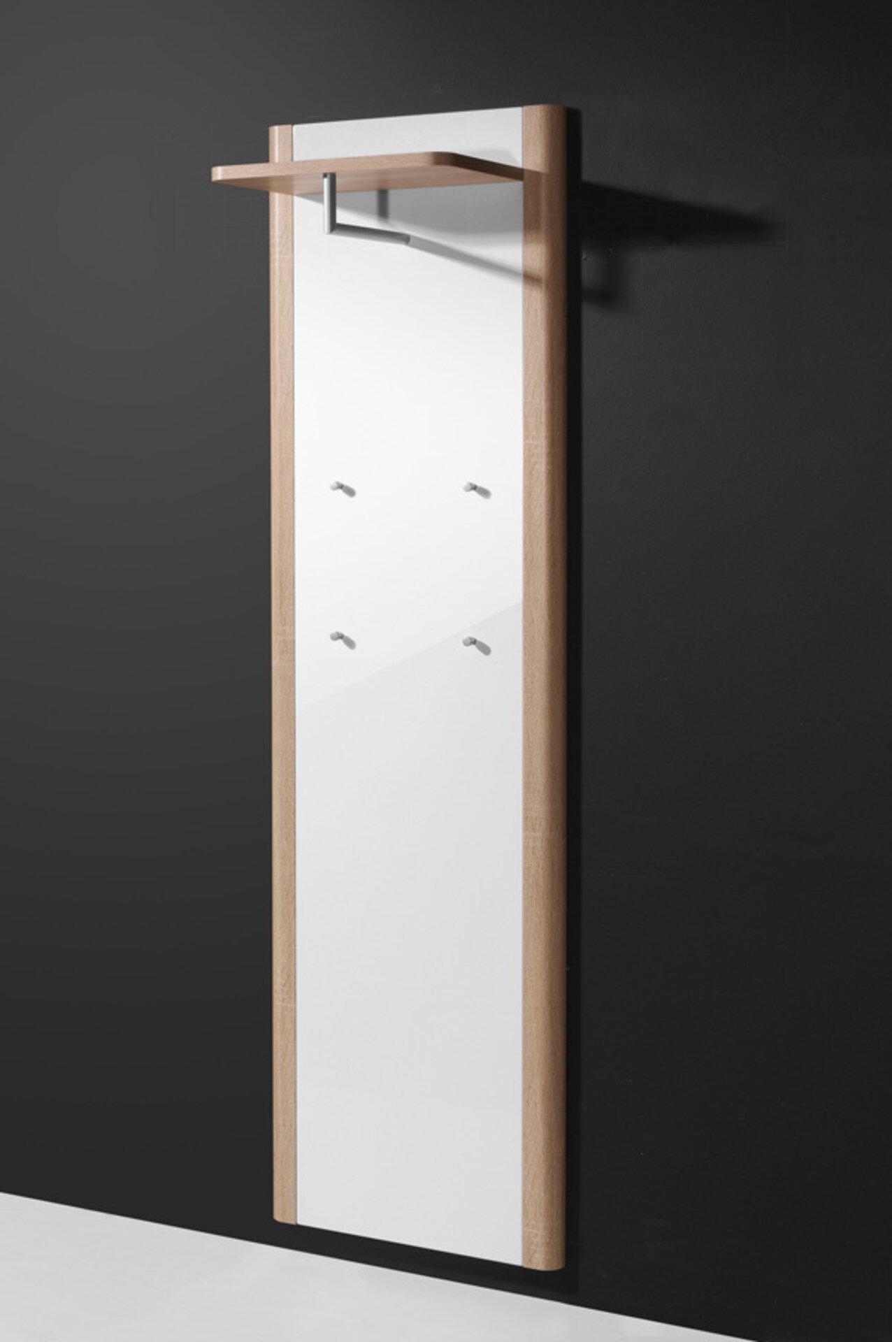 Garderobenpaneel RONDA Vito Holzwerkstoff mehrfarbig 32 x 192 x 57 cm
