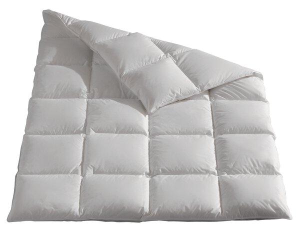Daunendecke warm Pro Night Textil weiß
