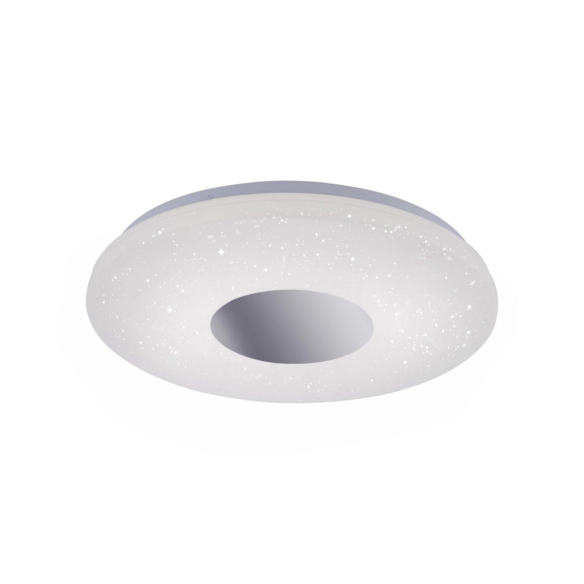 Deckenleuchte LAVINIA Leuchtendirekt Metall silber 39 x 70 x 39 cm