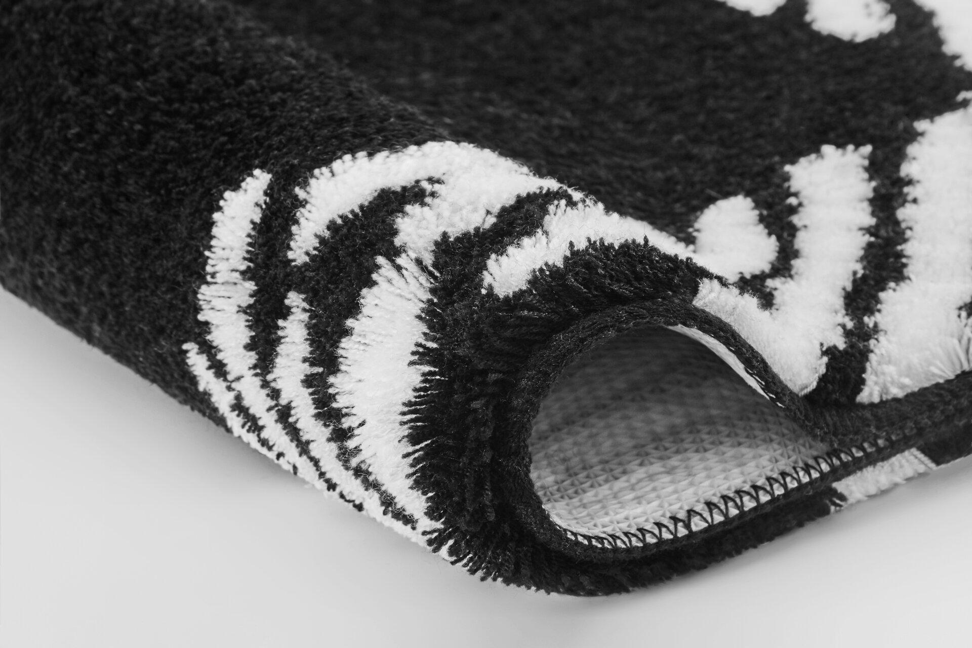 Badteppich Nola Meusch Textil schwarz