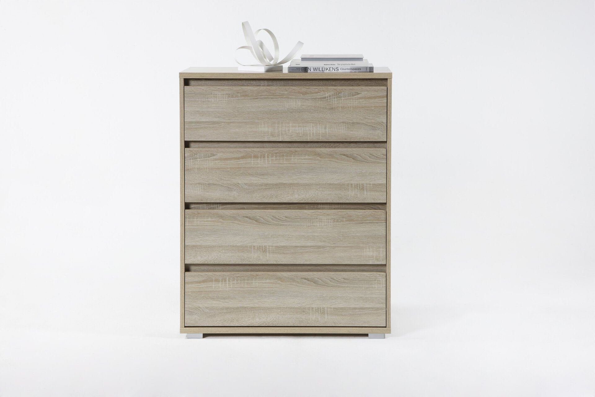 Kommode IKARUS inbuy Holzwerkstoff braun 48 x 103 x 80 cm
