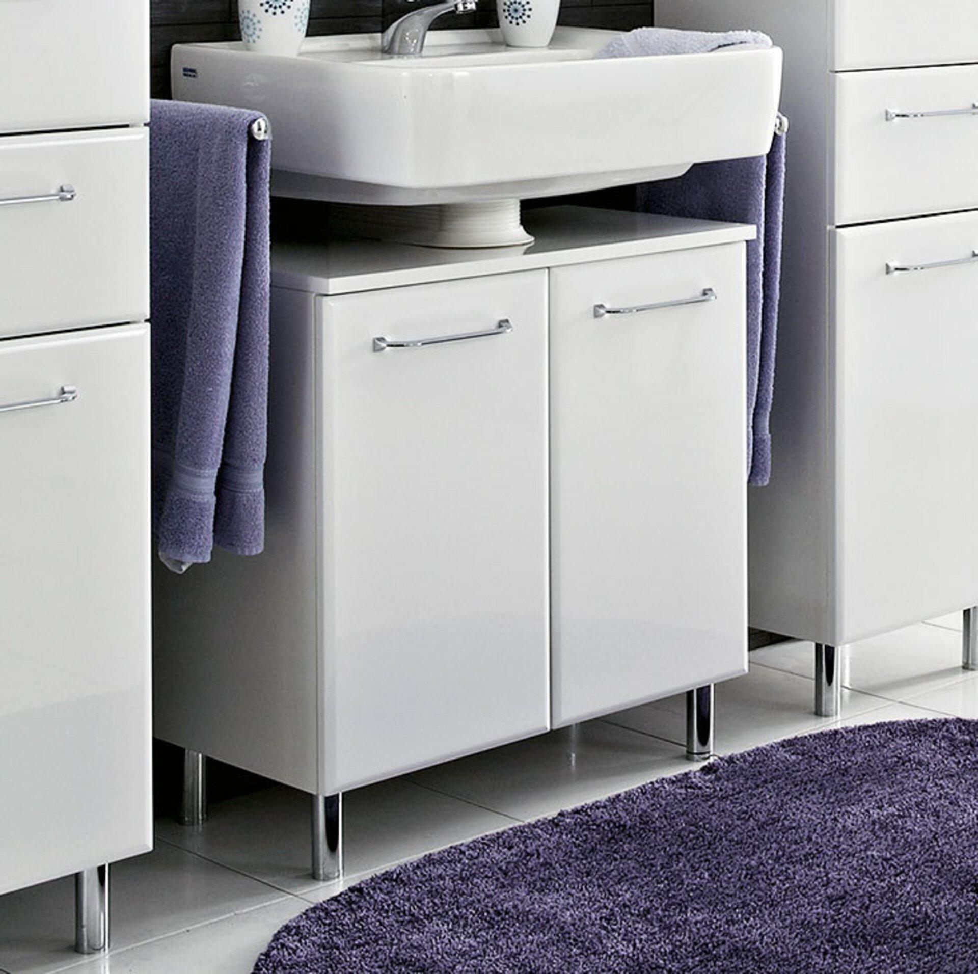 Waschbeckenunterschrank Filo PELIPAL Holzwerkstoff weiß
