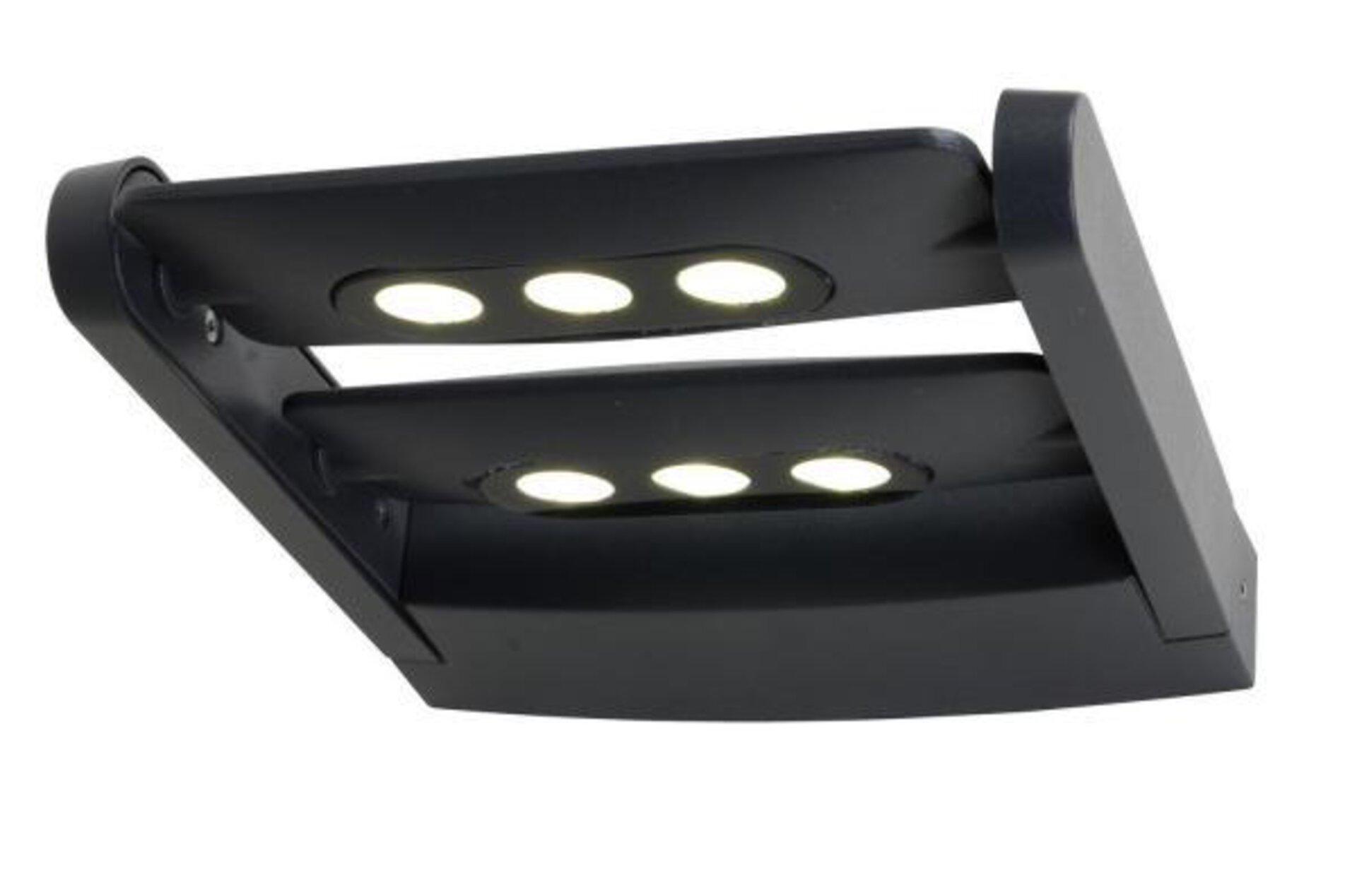 Wand-Aussenleuchte Mini LEDSpot Eco-Light Metall 21 x 5 x 25 cm