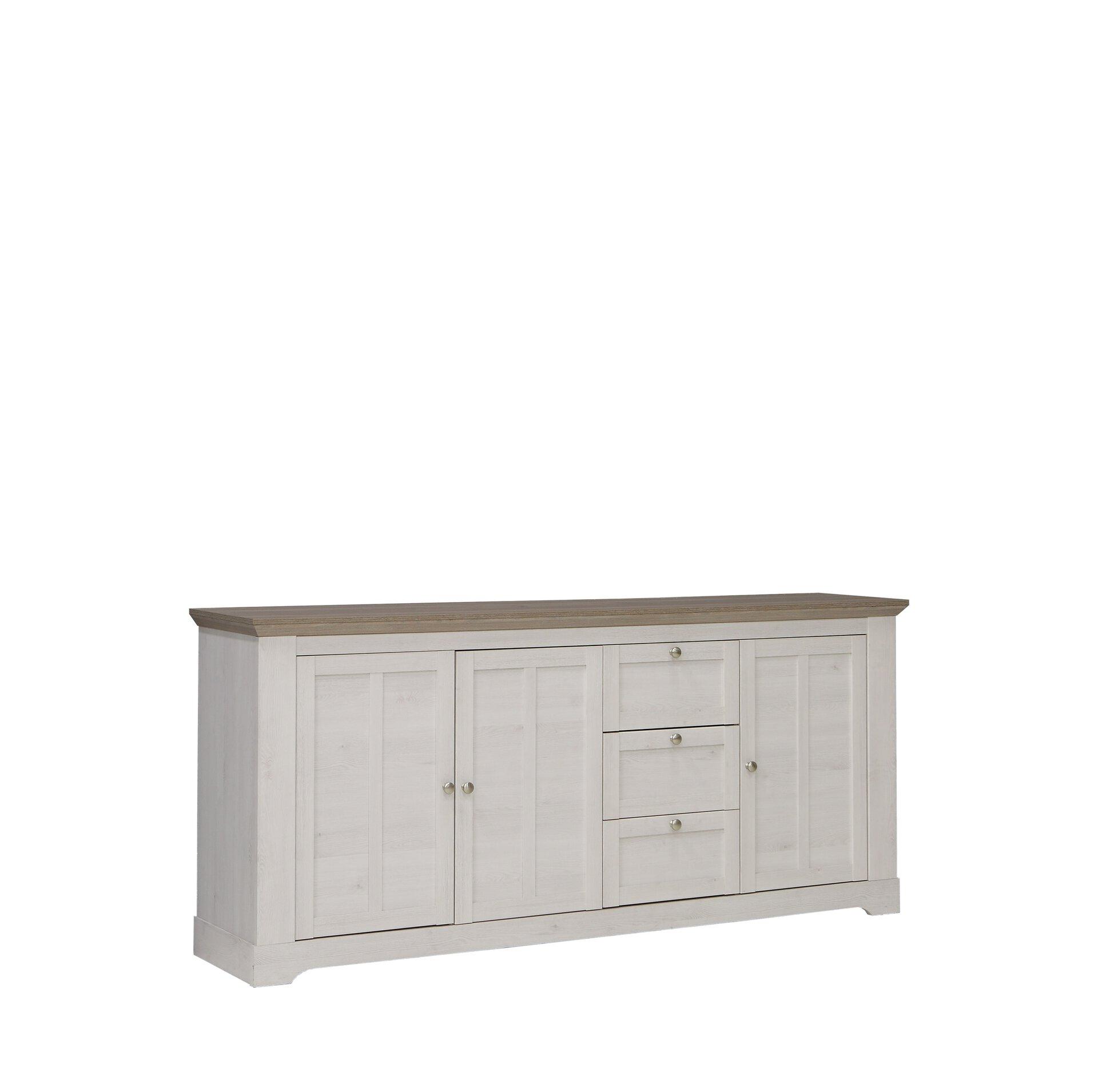 Sideboard ALETTA SELF Holzwerkstoff 44 x 93 x 205 cm