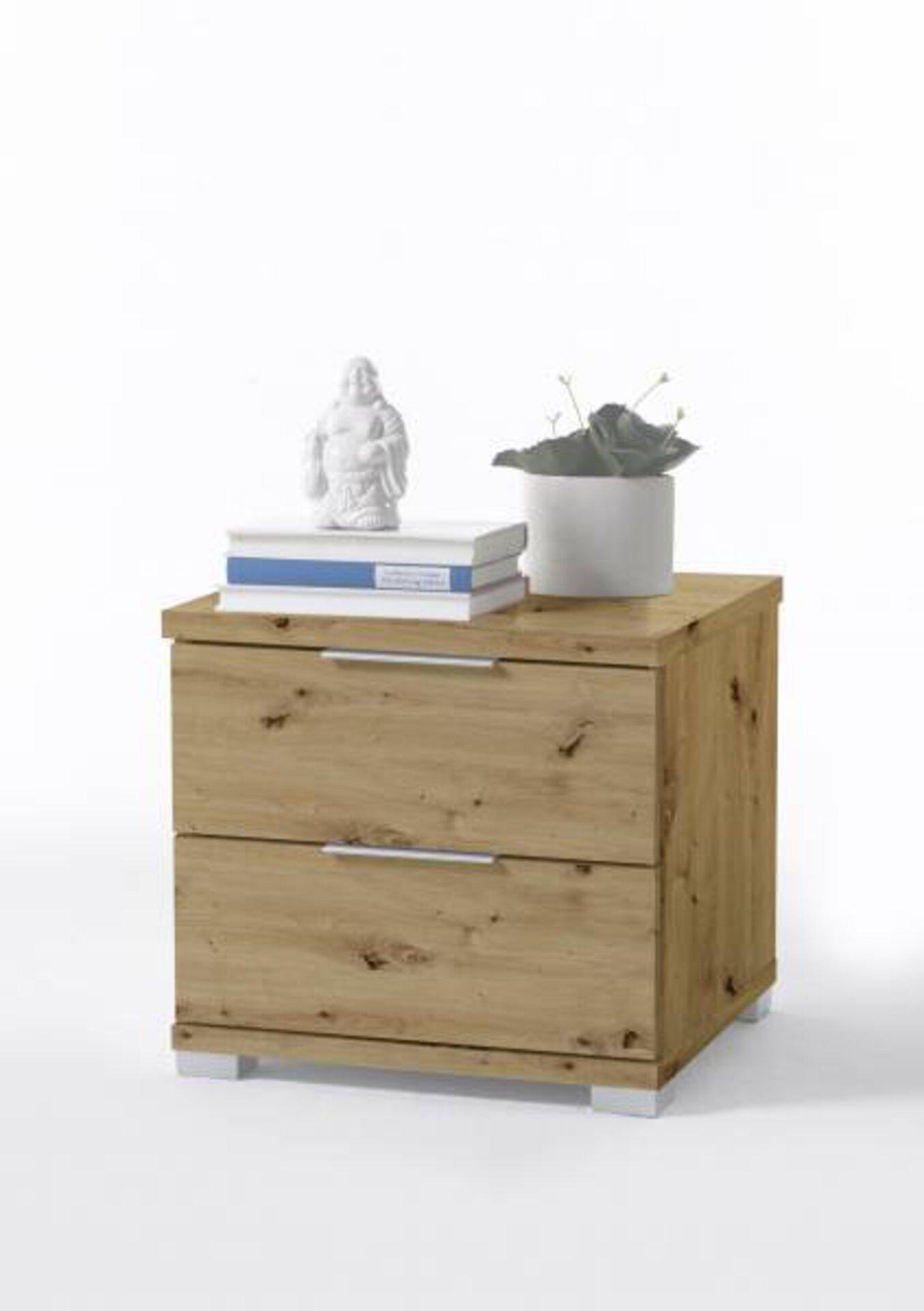 Nachttisch Dreamoro Holzwerkstoff braun 42 x 43 x 46 cm