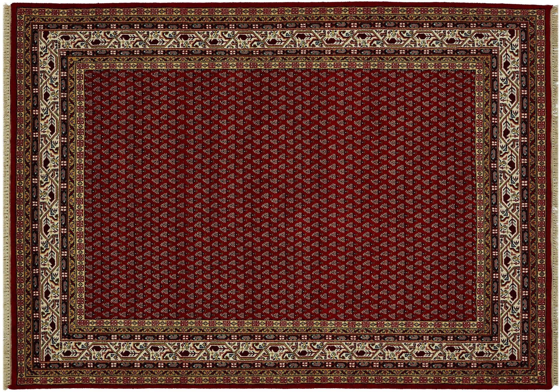 Orientteppich Bikaner Mir Rug Studios Textil rot 1 x 1 cm