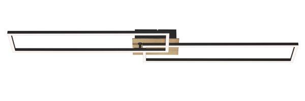Deckenleuchte Briloner Metall braun, schwarz ca. 25 cm x 9 cm x 110 cm