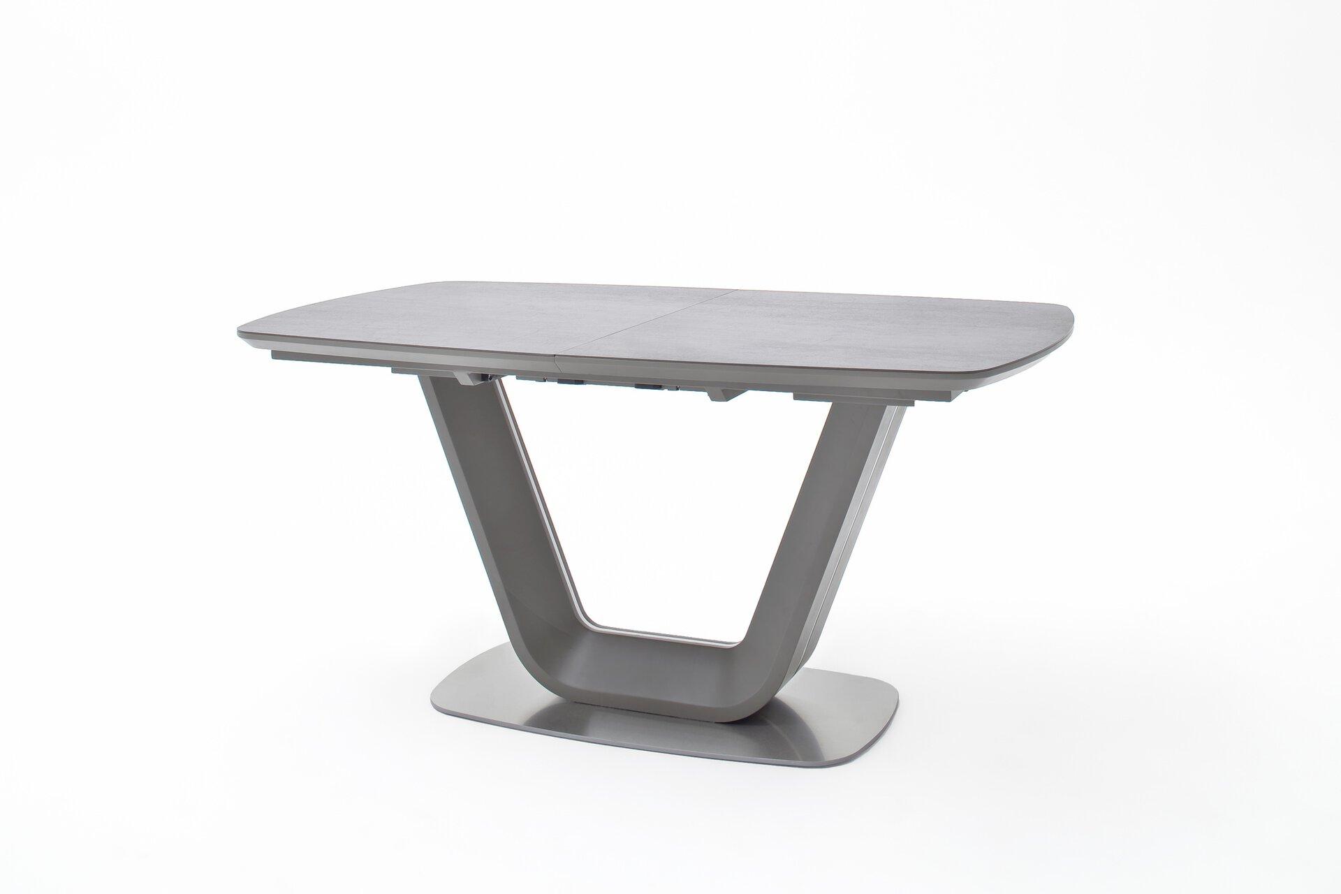 Esstisch JARUK MCA furniture Metall 90 x 76 x 160 cm