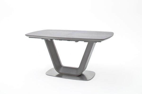 Esstisch MCA furniture Holzwerkstoff, Keramik, Metall MDF Matt/Keramik anthrazit ca. 90 cm x 76 cm x 160 cm