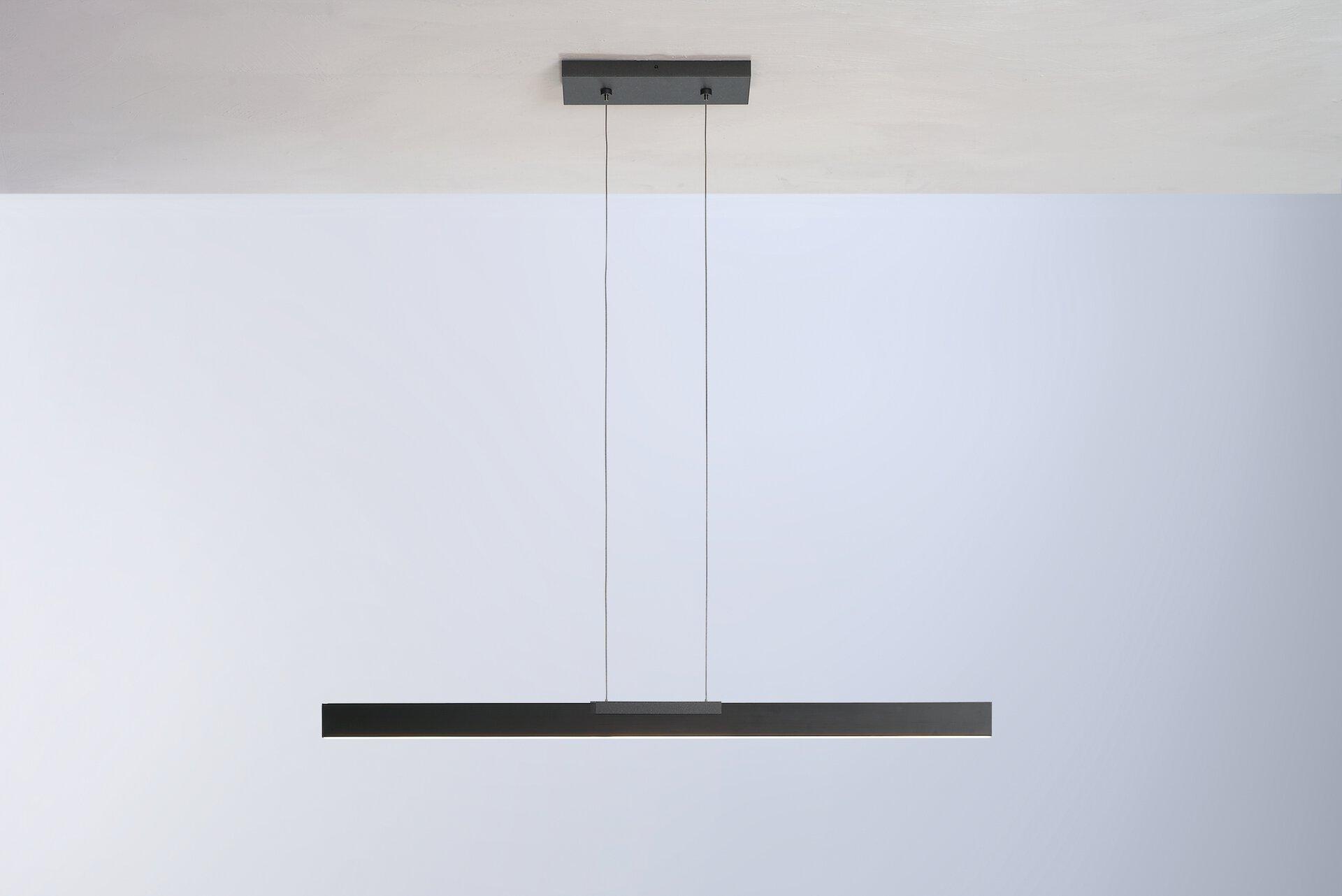 Pendelleuchte NANO Bopp Metall schwarz 1 x 140 x 101 cm