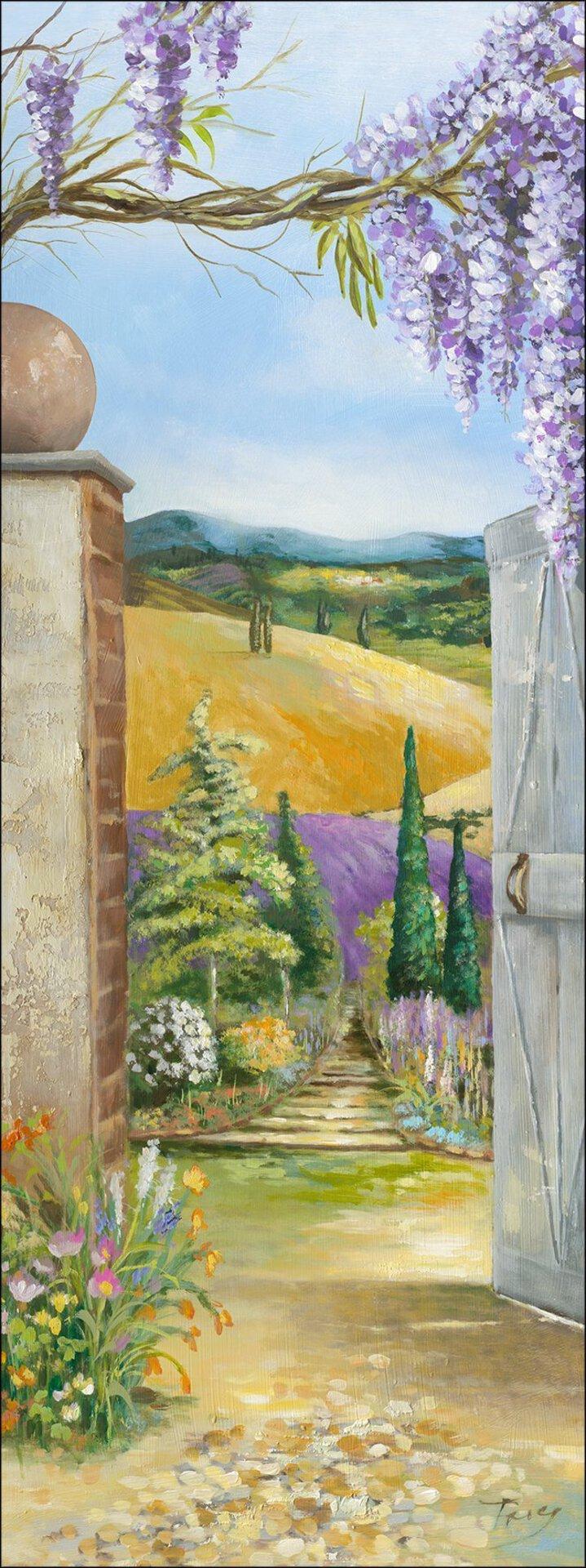 Bild Way To Garden II Pro-Art Holzwerkstoff 77 x 27 x 2 cm