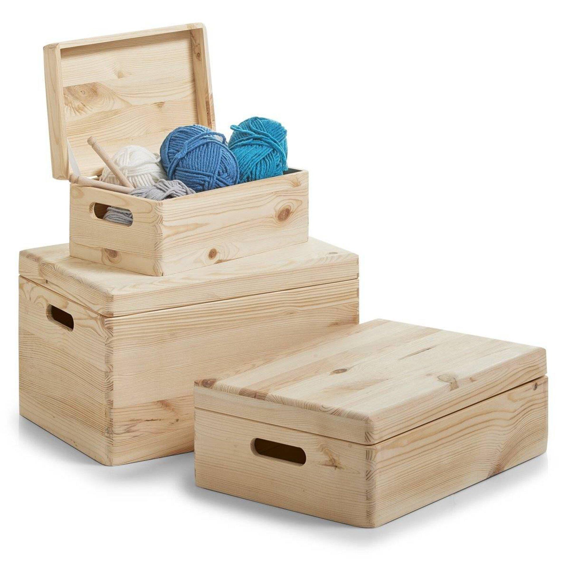 Aufbewahrung Zeller Present Holz 20 x 14 x 30 cm