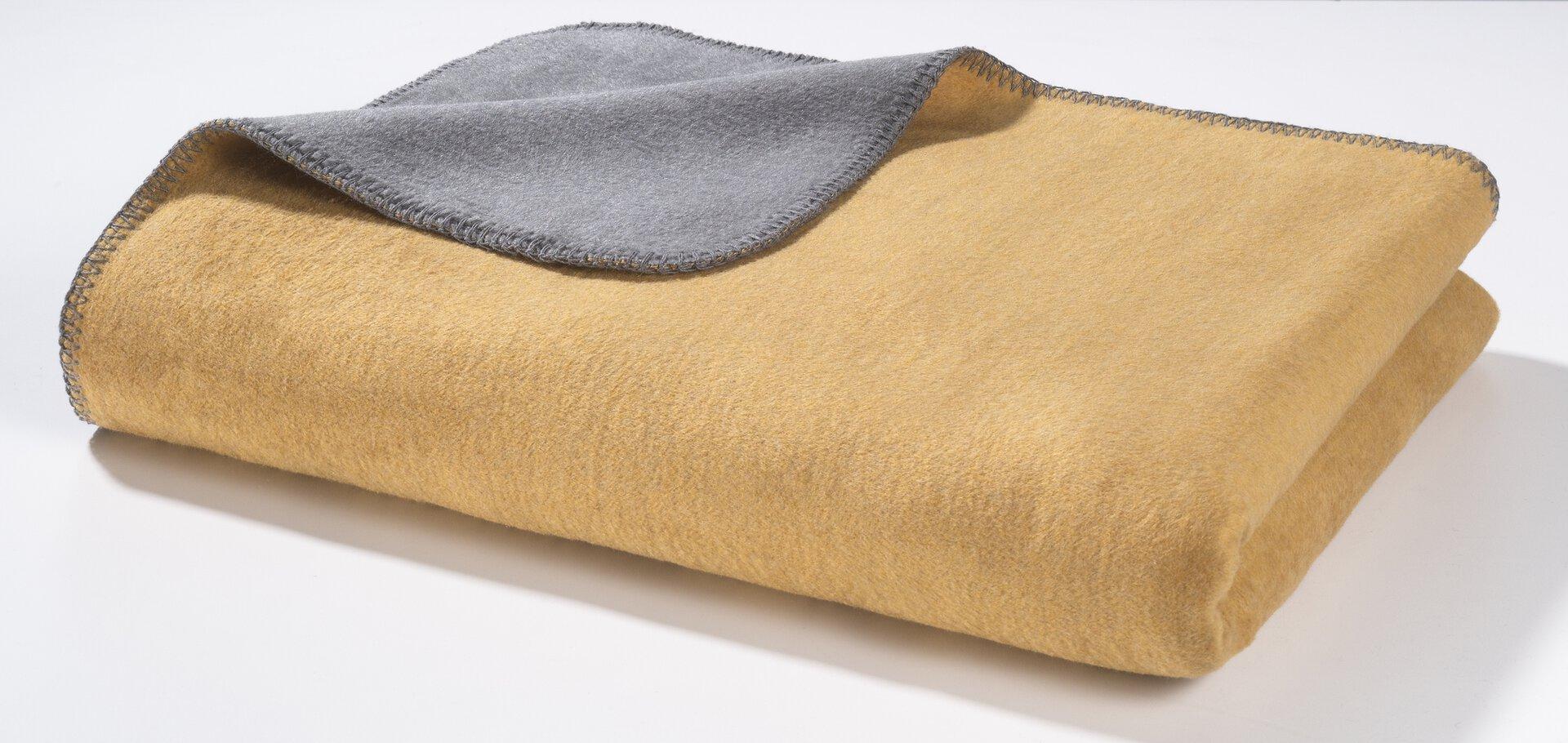 Wendedecke Casa Nova Textil gold 150 x 200 cm