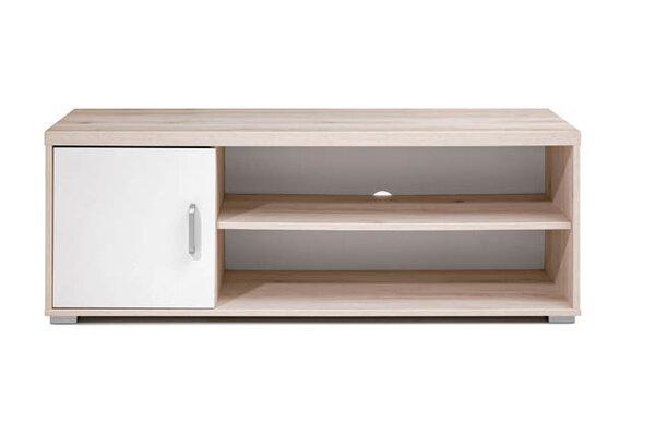 Lowboard Vito Holzwerkstoff Aurum Dekor / Weiß MDF Dekor ca. 42 cm x 44 cm x 120 cm
