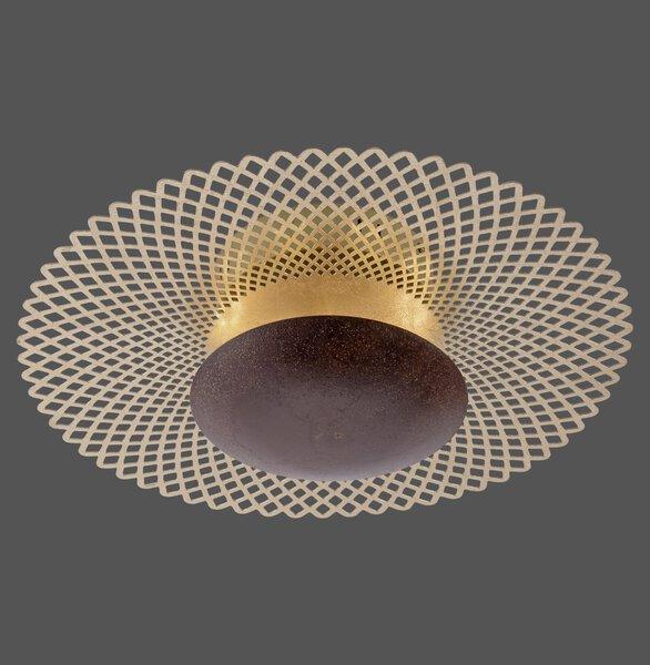 Deckenleuchte Paul Neuhaus Metall rost ca. 45 cm x 16 cm x 45 cm